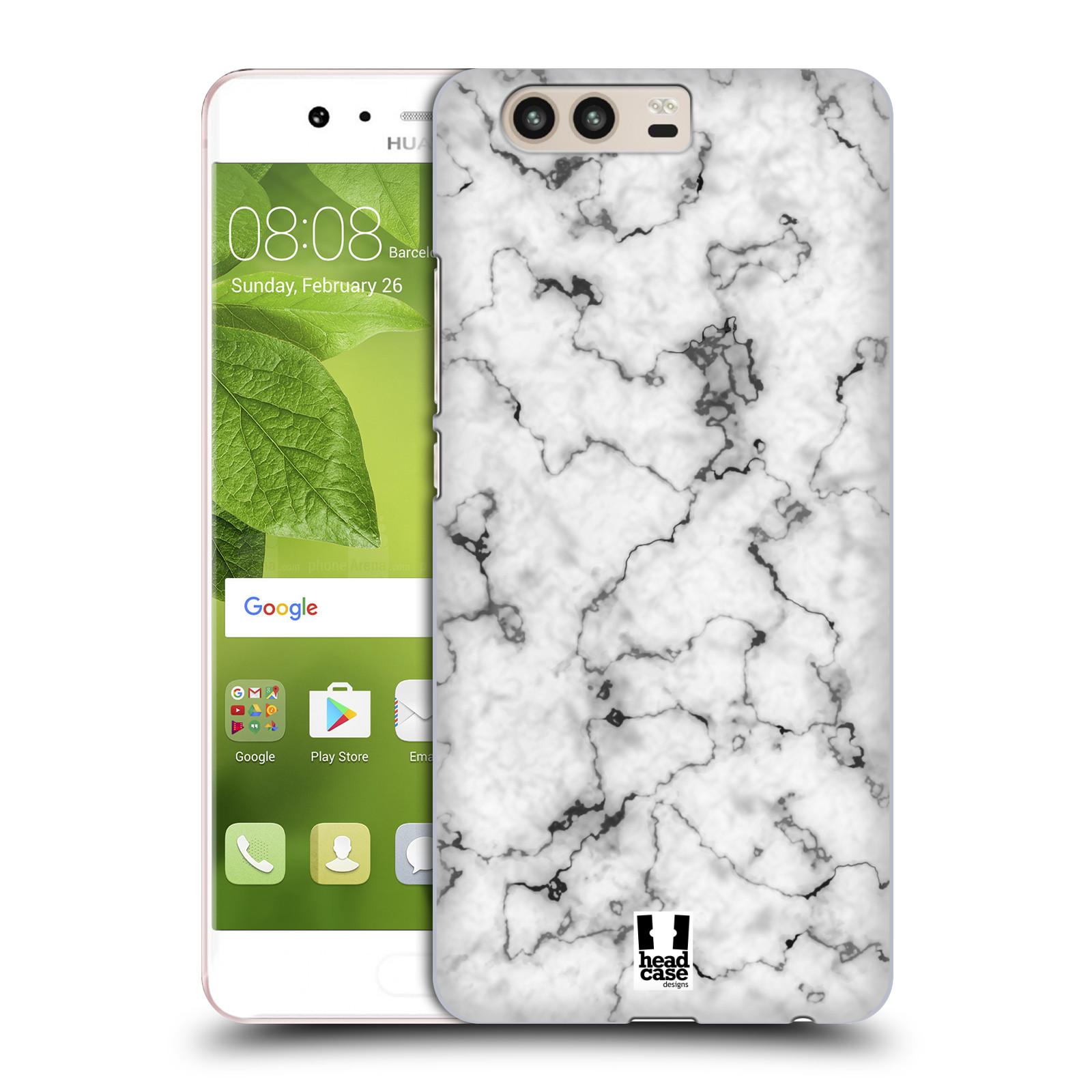Plastové pouzdro na mobil Huawei P10 - Head Case - Bílý mramor