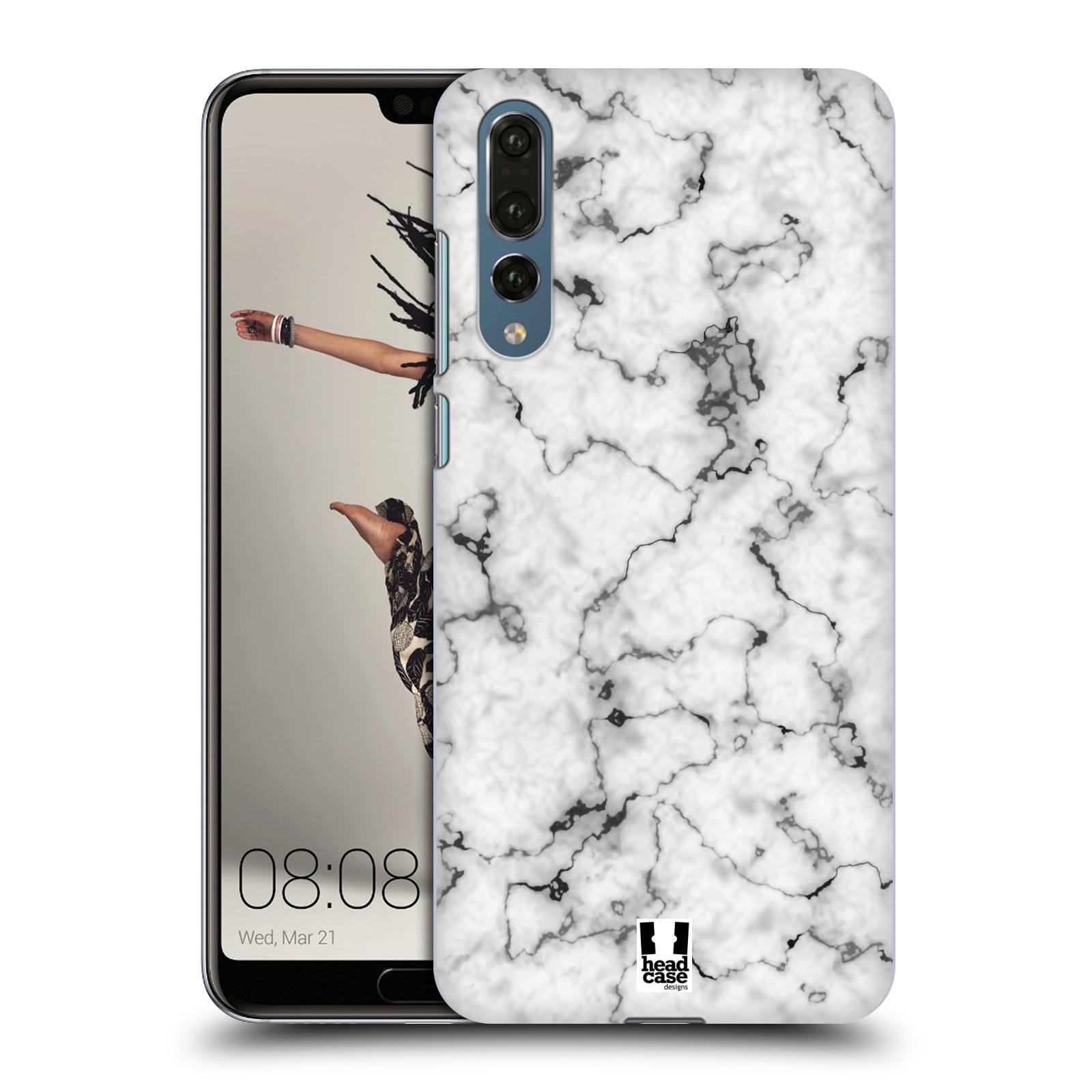 Plastové pouzdro na mobil Huawei P20 Pro - Head Case - Bílý mramor