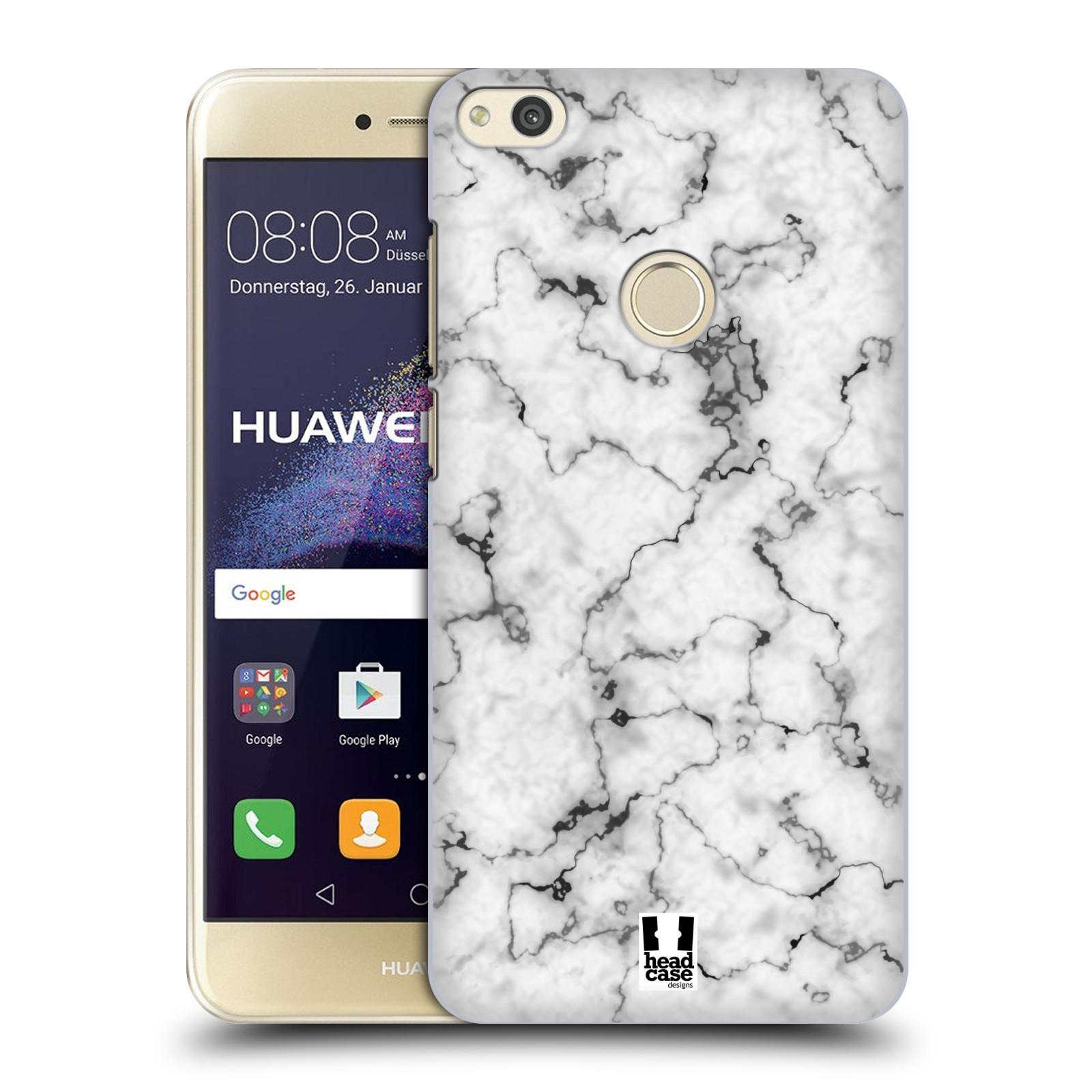 Plastové pouzdro na mobil Huawei P9 Lite (2017) - Head Case - Bílý mramor