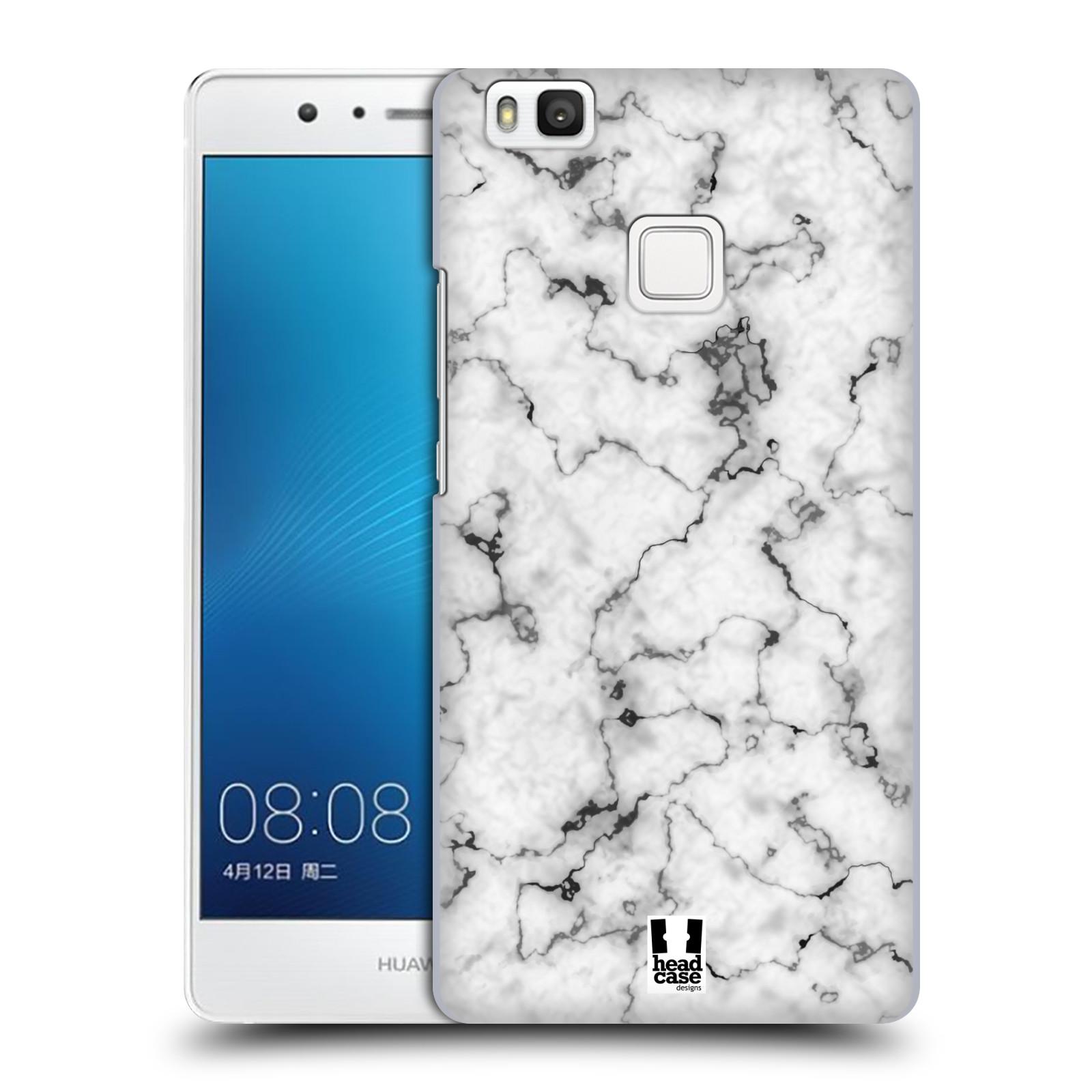 Plastové pouzdro na mobil Huawei P9 Lite - Head Case - Bílý mramor