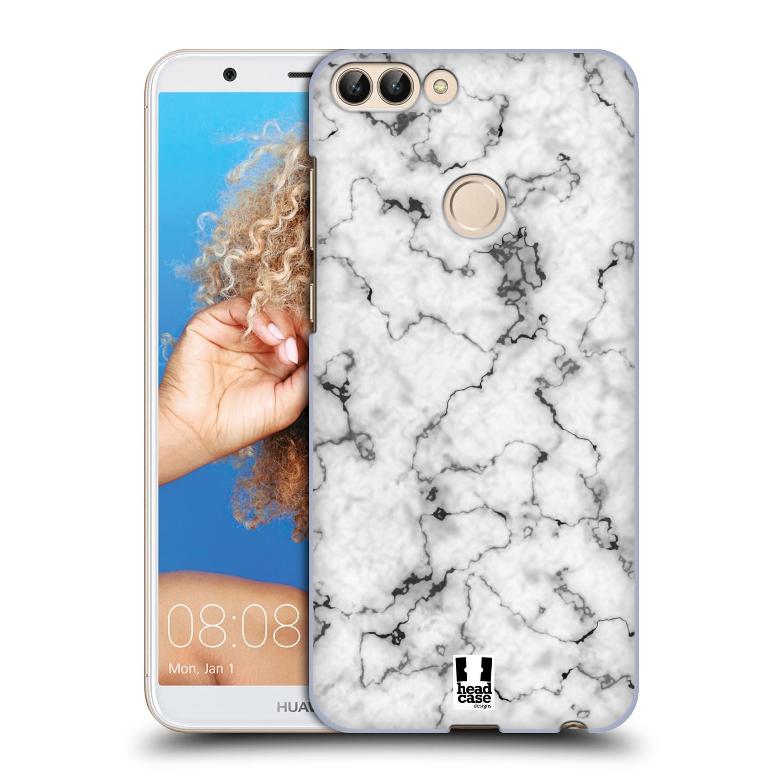 Plastové pouzdro na mobil Huawei P Smart - Head Case - Bílý mramor
