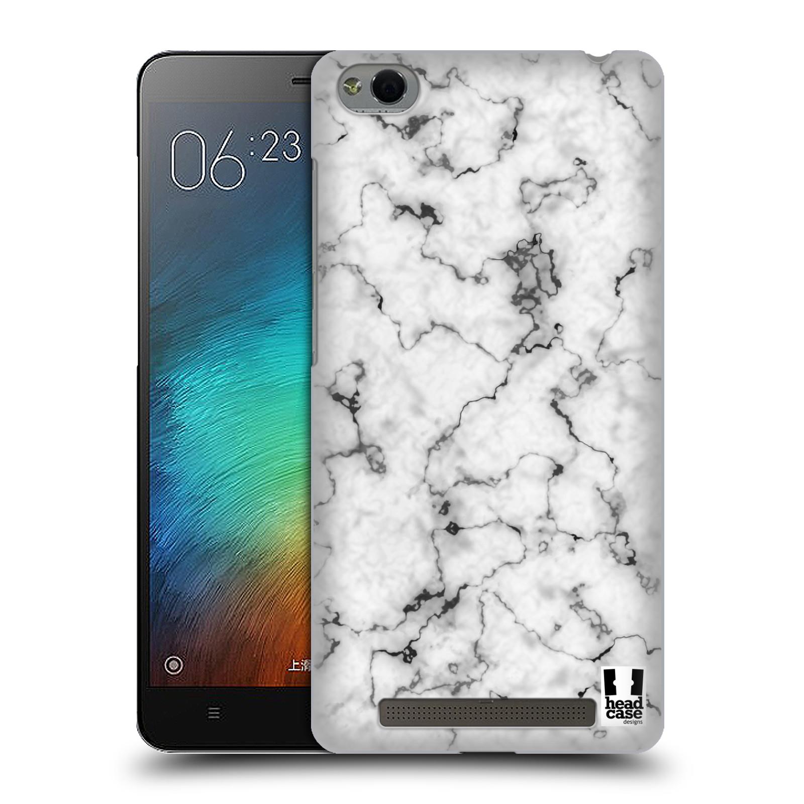 Plastové pouzdro na mobil Xiaomi Redmi 3 - Head Case - Bílý mramor