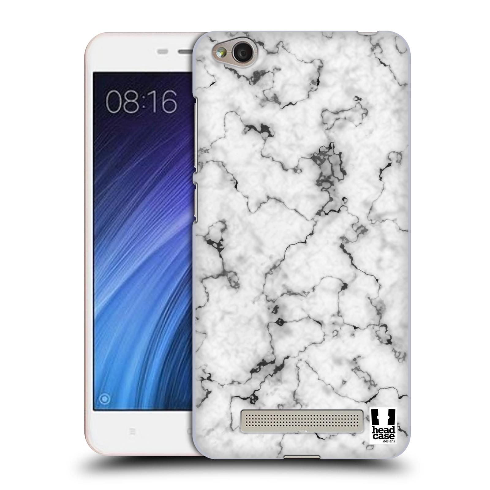Plastové pouzdro na mobil Xiaomi Redmi 4A - Head Case - Bílý mramor