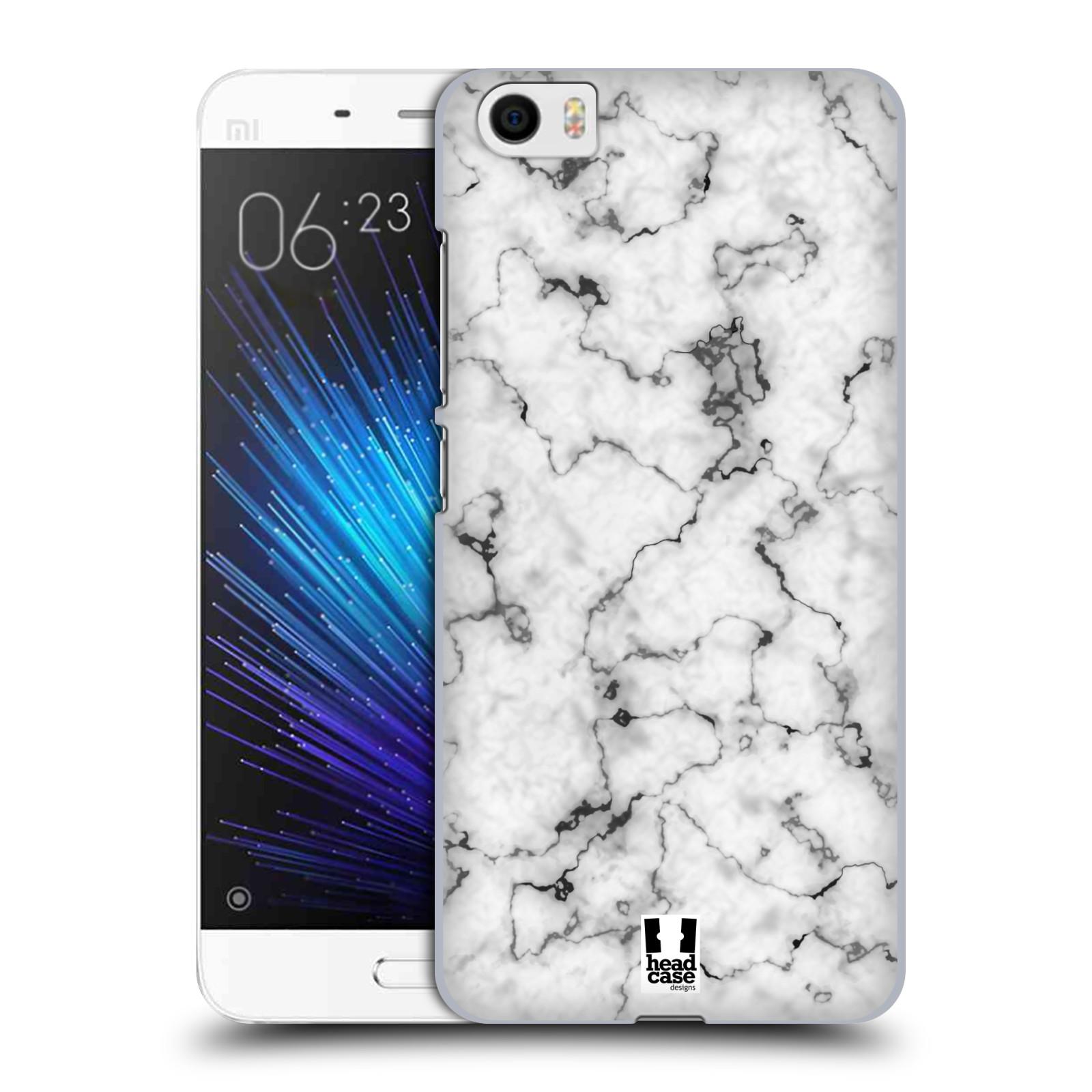 Plastové pouzdro na mobil Xiaomi Mi5 - Head Case - Bílý mramor