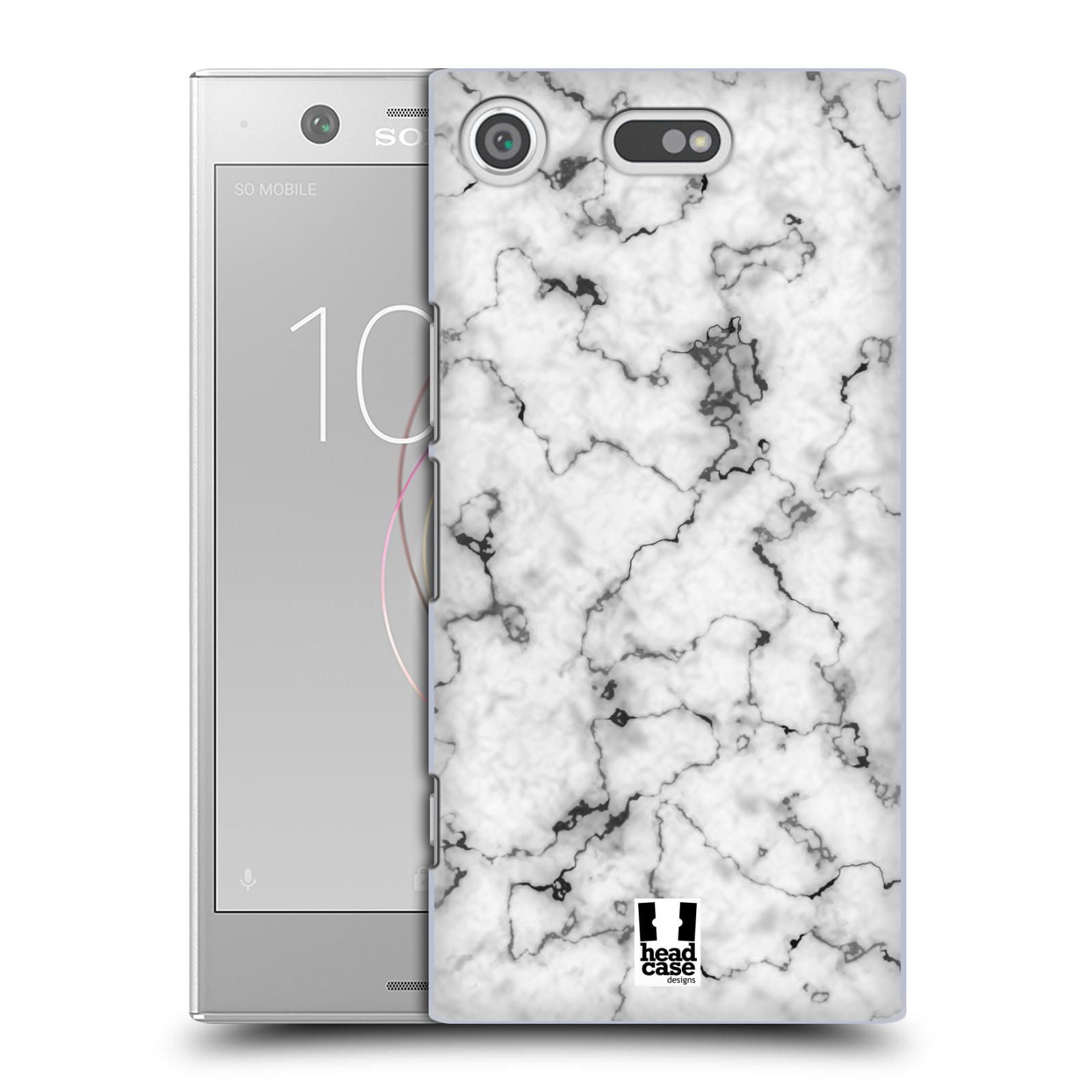 Plastové pouzdro na mobil Sony Xperia XZ1 Compact - Head Case - Bílý mramor