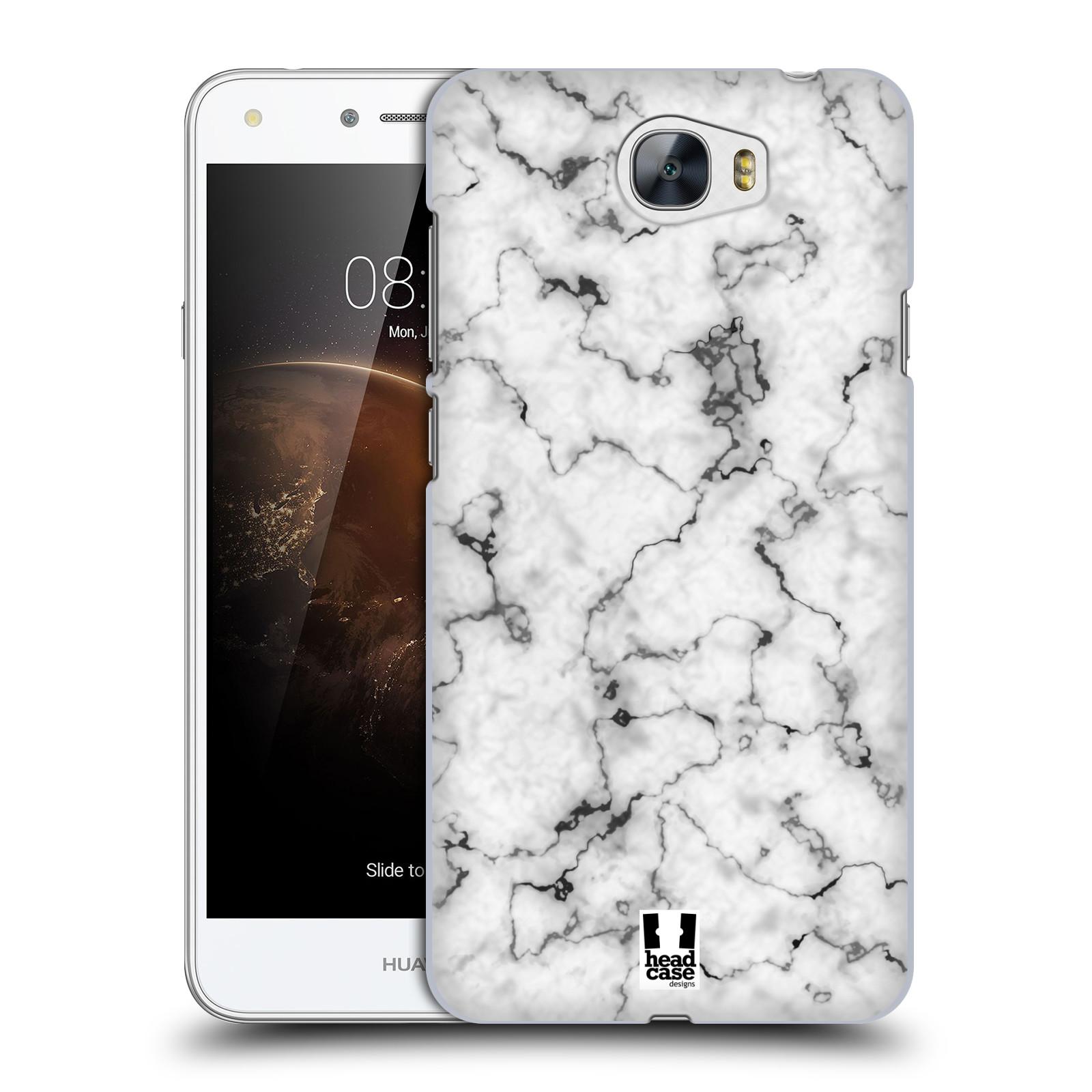 Plastové pouzdro na mobil Huawei Y5 II - Head Case - Bílý mramor