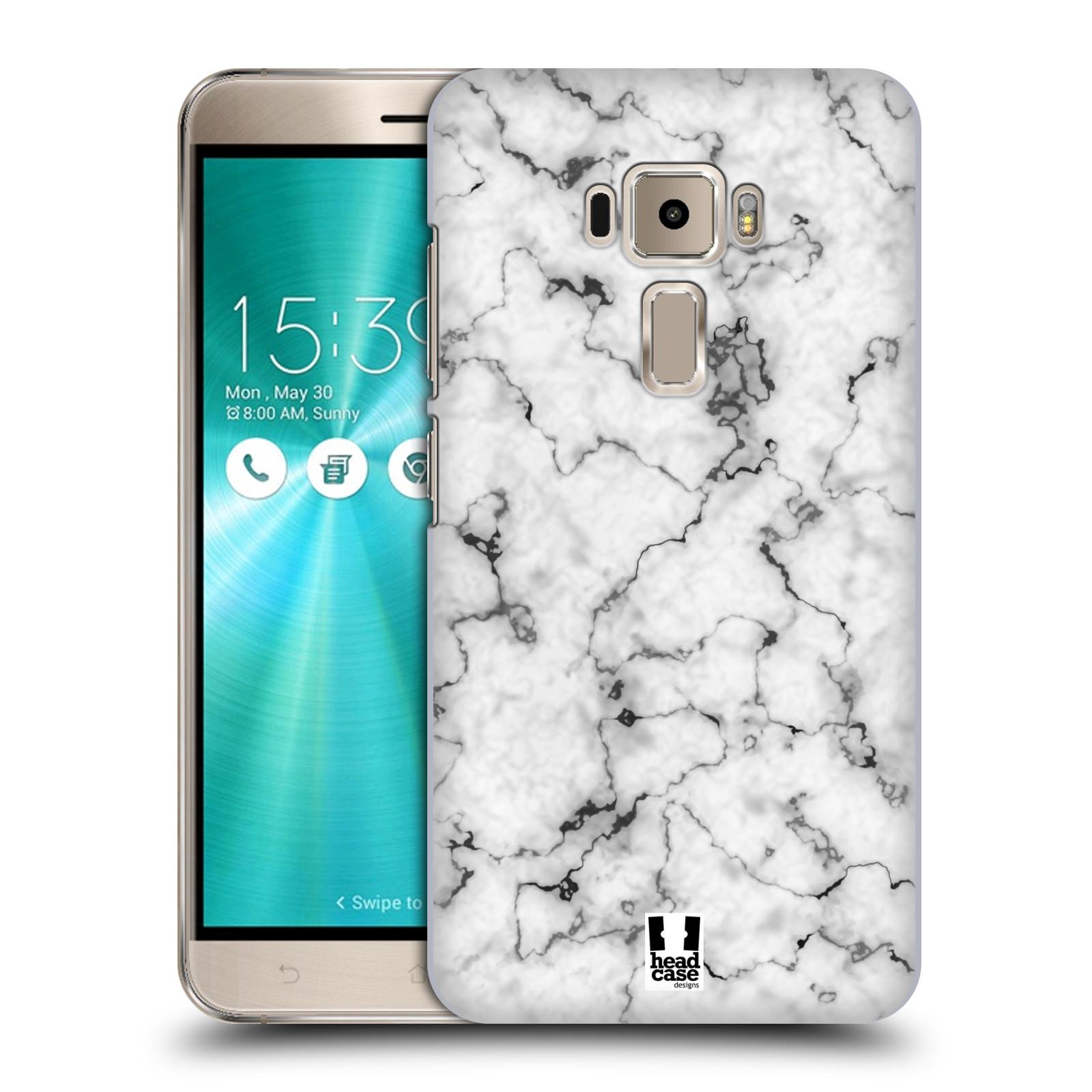 Plastové pouzdro na mobil Asus ZenFone 3 ZE520KL - Head Case - Bílý mramor