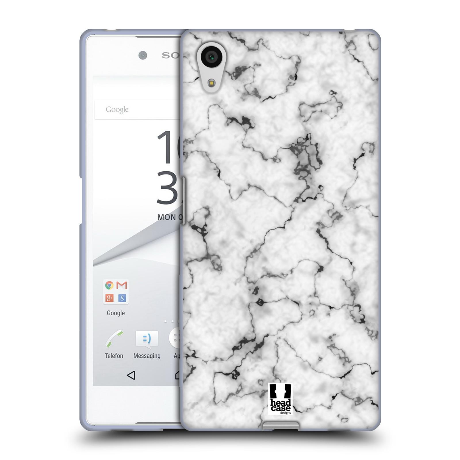 Silikonové pouzdro na mobil Sony Xperia Z5 - Head Case - Bílý mramor