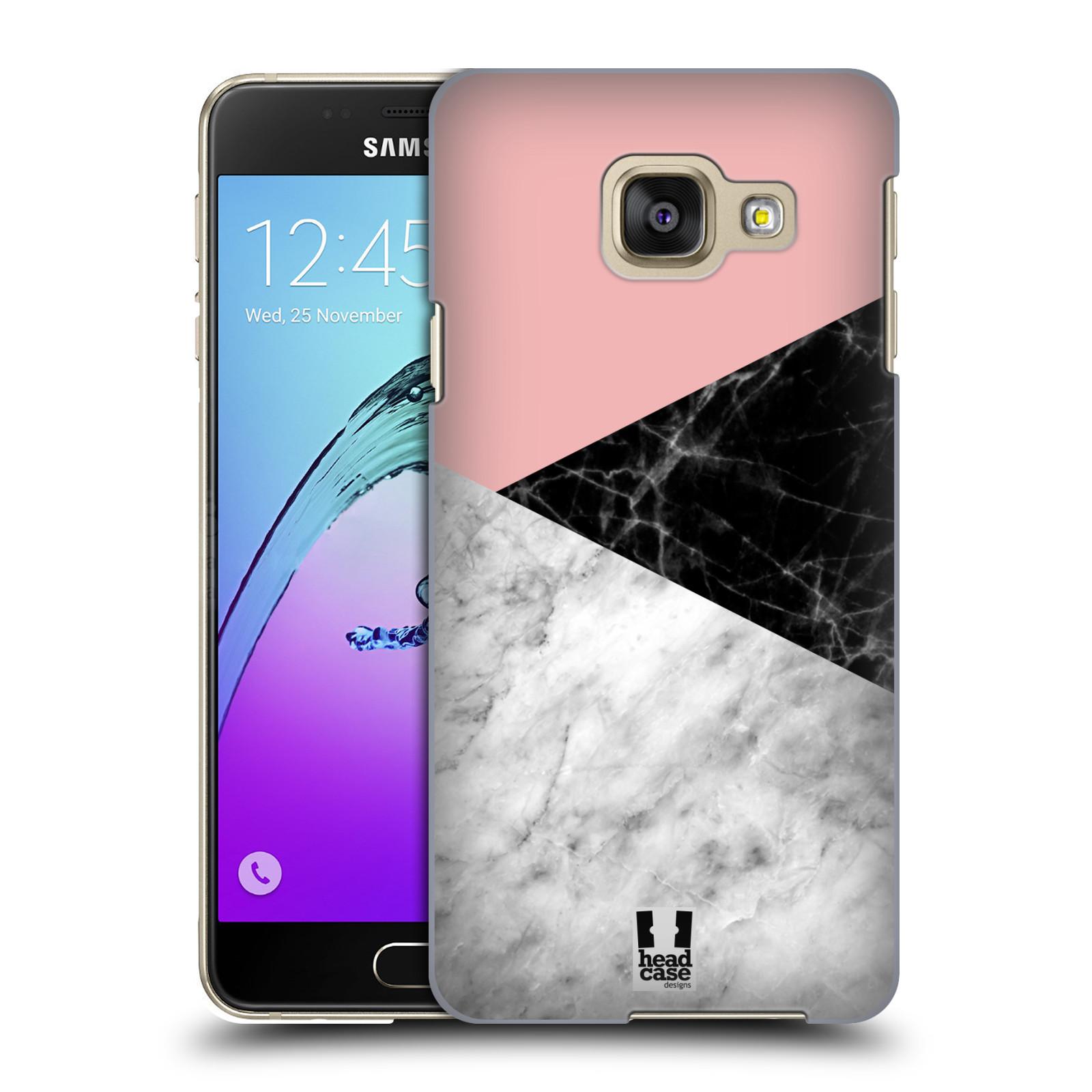 Plastové pouzdro na mobil Samsung Galaxy A3 (2016) - Head Case - Mramor mix