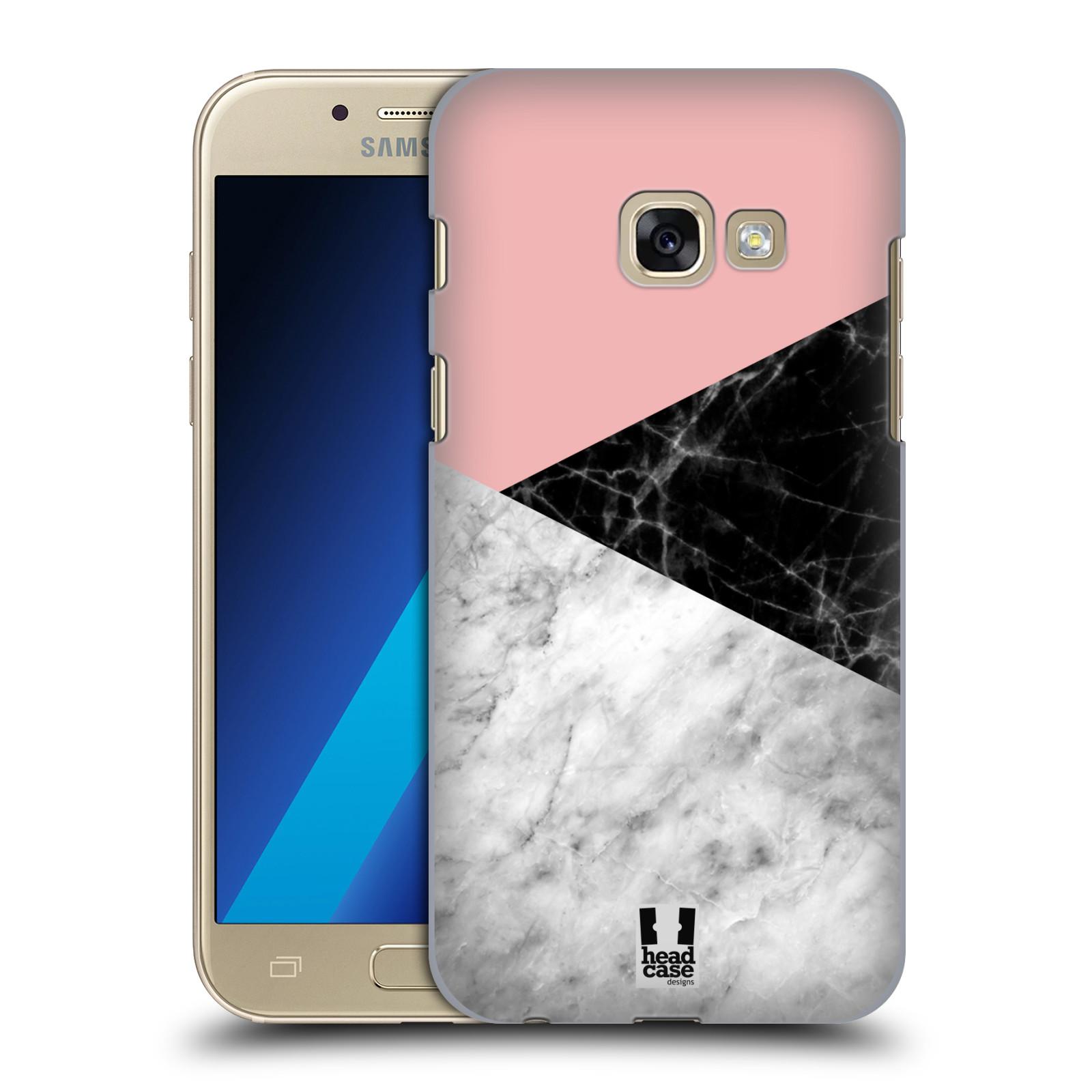 Plastové pouzdro na mobil Samsung Galaxy A3 (2017) - Head Case - Mramor mix