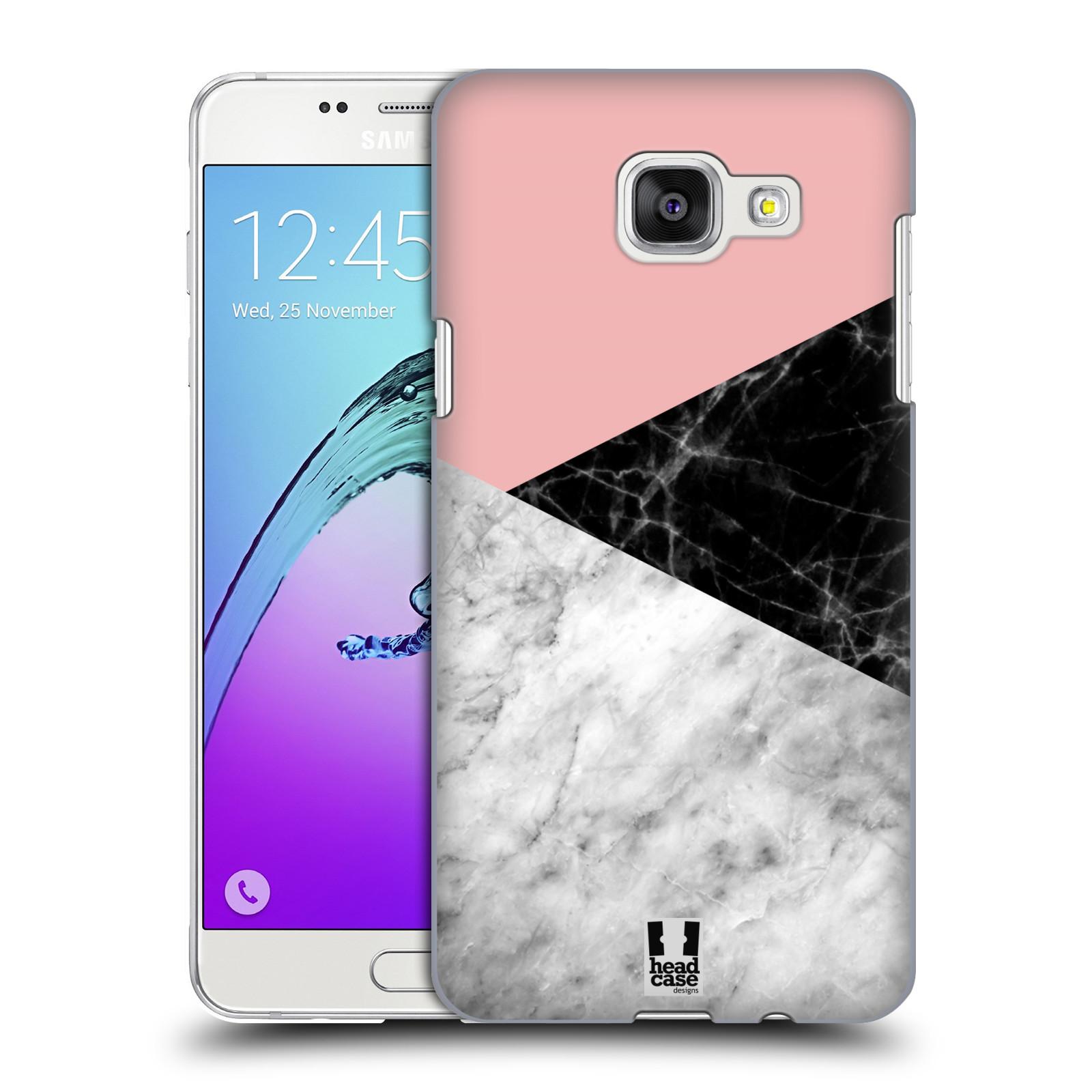 Plastové pouzdro na mobil Samsung Galaxy A5 (2016) - Head Case - Mramor mix