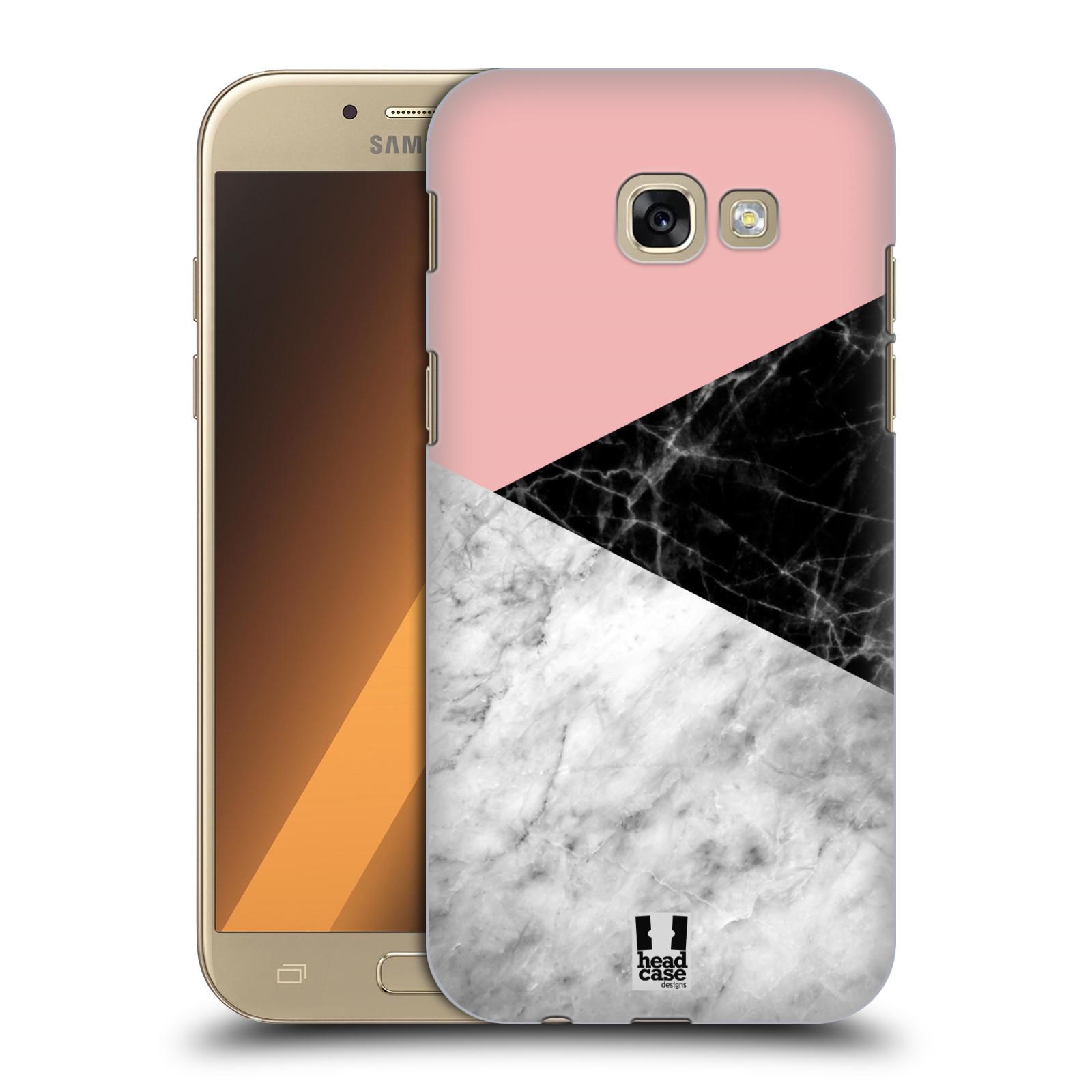Plastové pouzdro na mobil Samsung Galaxy A5 (2017) - Head Case - Mramor mix