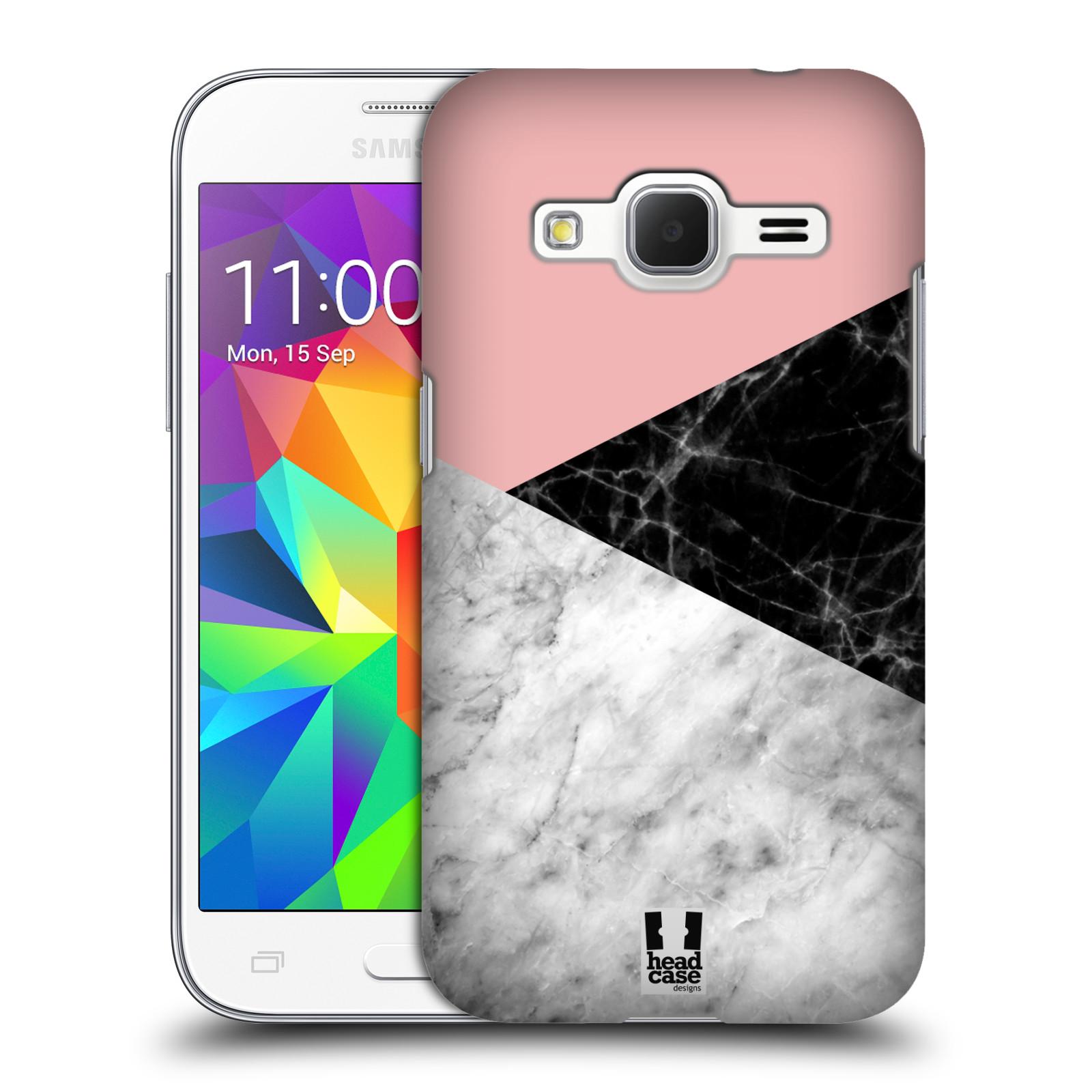 Plastové pouzdro na mobil Samsung Galaxy Core Prime LTE - Head Case - Mramor mix