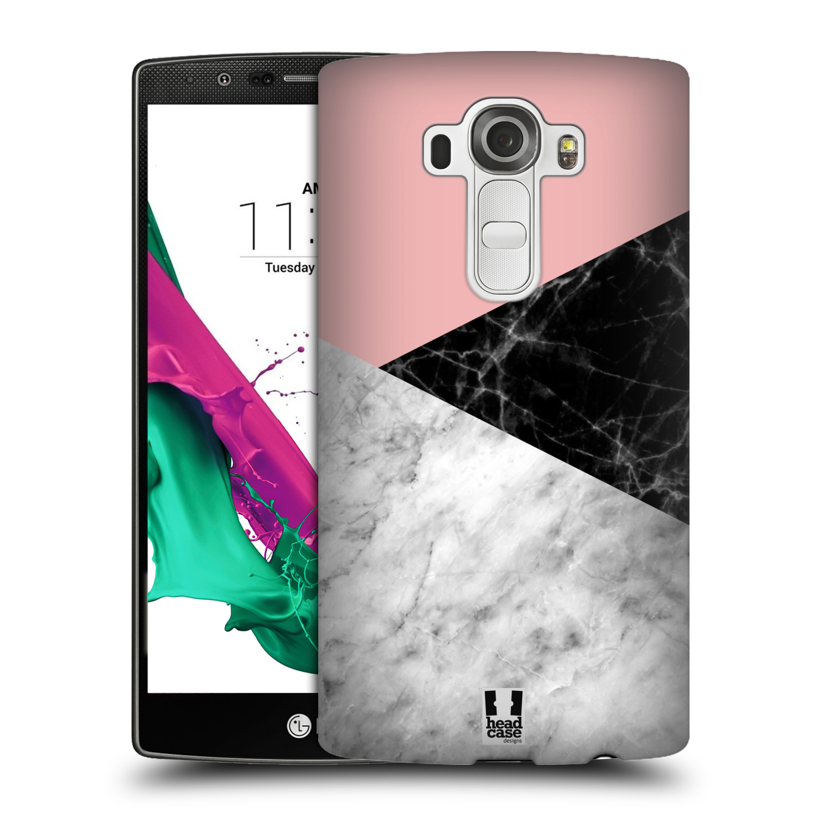 Plastové pouzdro na mobil LG G4 - Head Case - Mramor mix