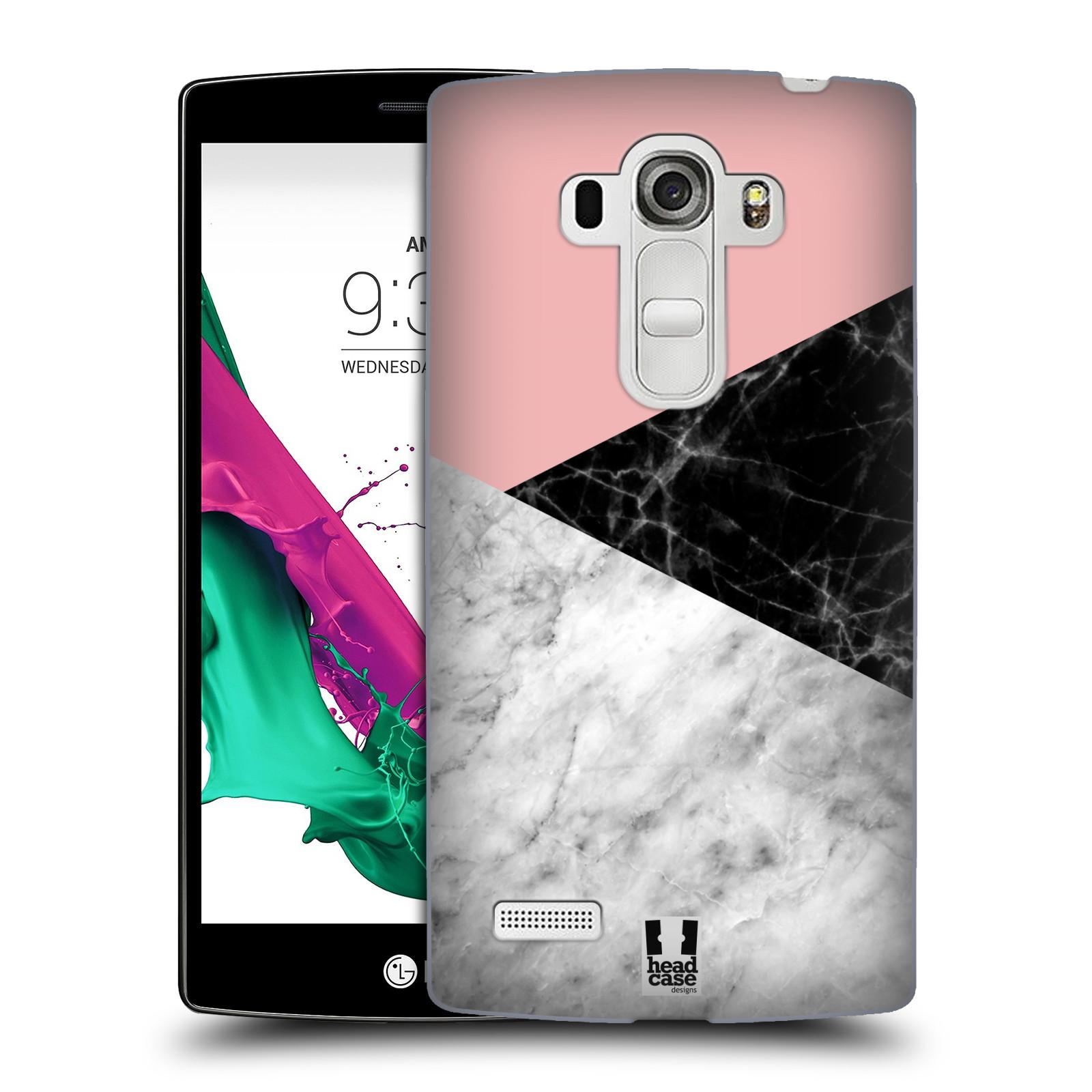 Plastové pouzdro na mobil LG G4s - Head Case - Mramor mix