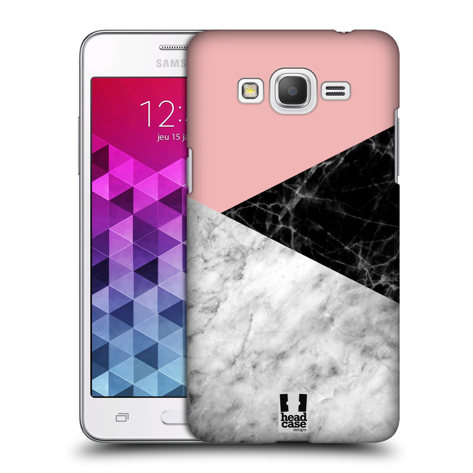 Plastové pouzdro na mobil Samsung Galaxy Grand Prime - Head Case - Mramor mix