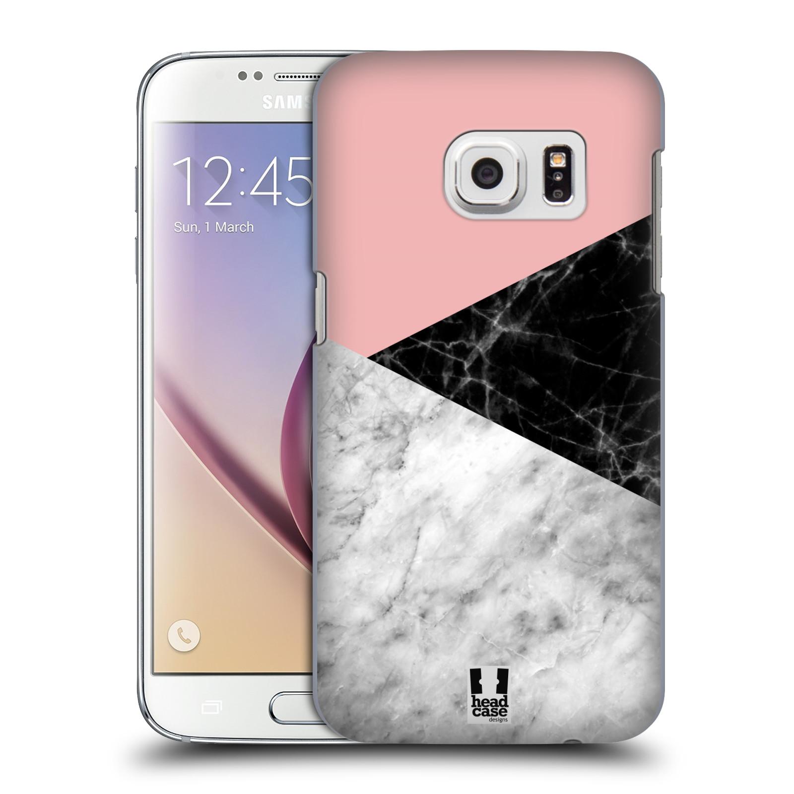 Plastové pouzdro na mobil Samsung Galaxy S7 - Head Case - Mramor mix
