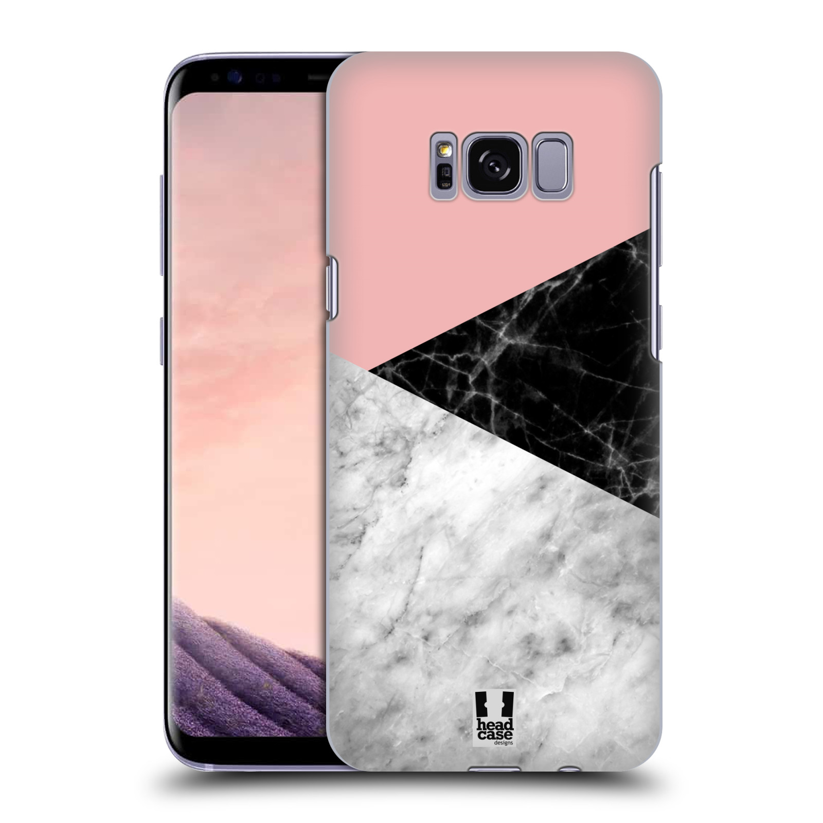 Plastové pouzdro na mobil Samsung Galaxy S8 - Head Case - Mramor mix
