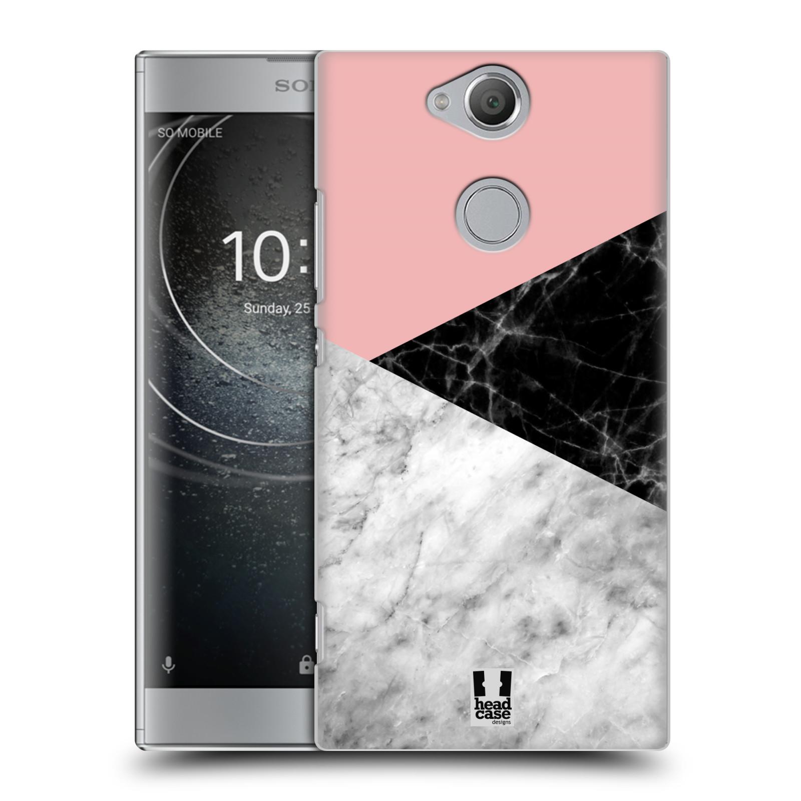 Plastové pouzdro na mobil Sony Xperia XA2 - Head Case - Mramor mix