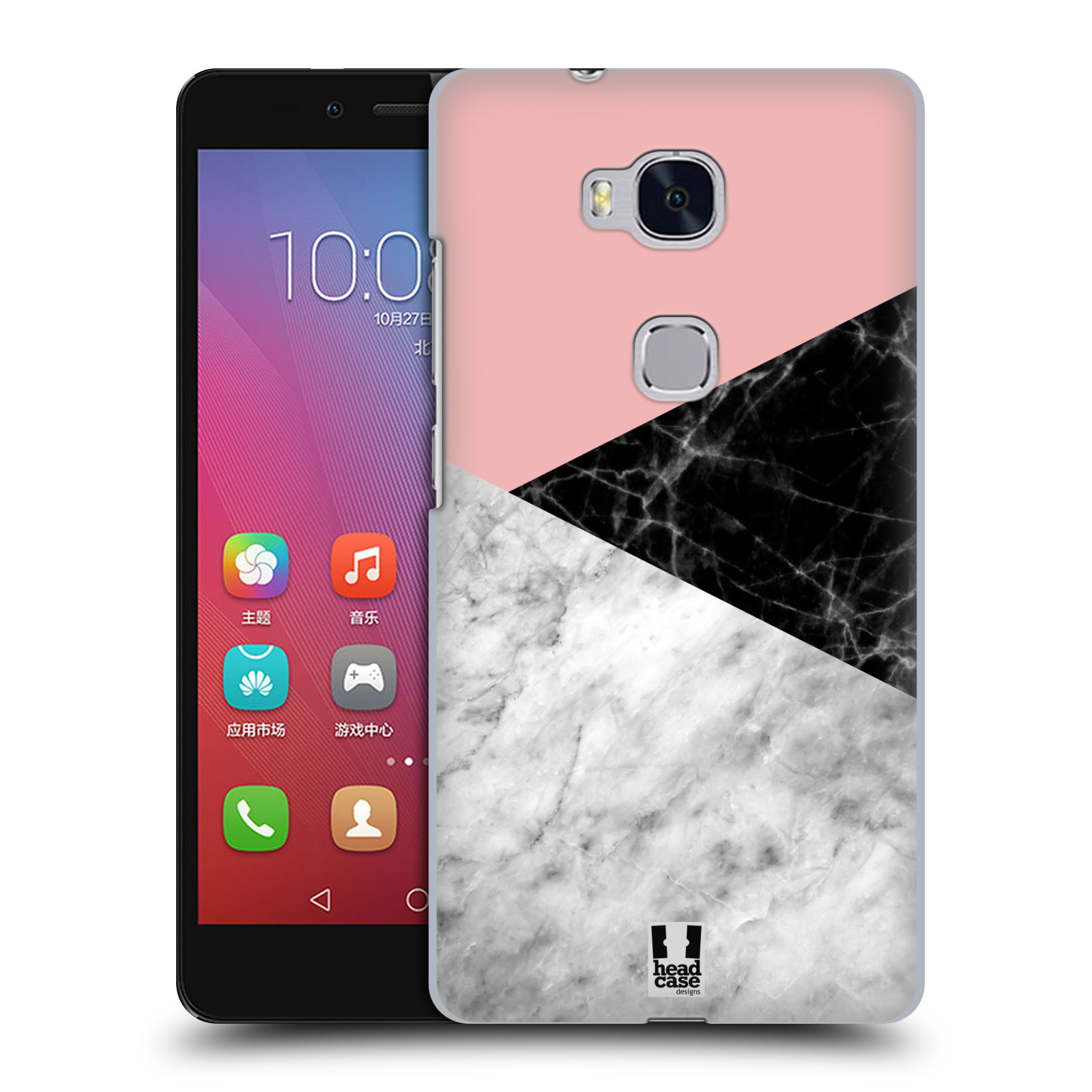Plastové pouzdro na mobil Honor 5X - Head Case - Mramor mix