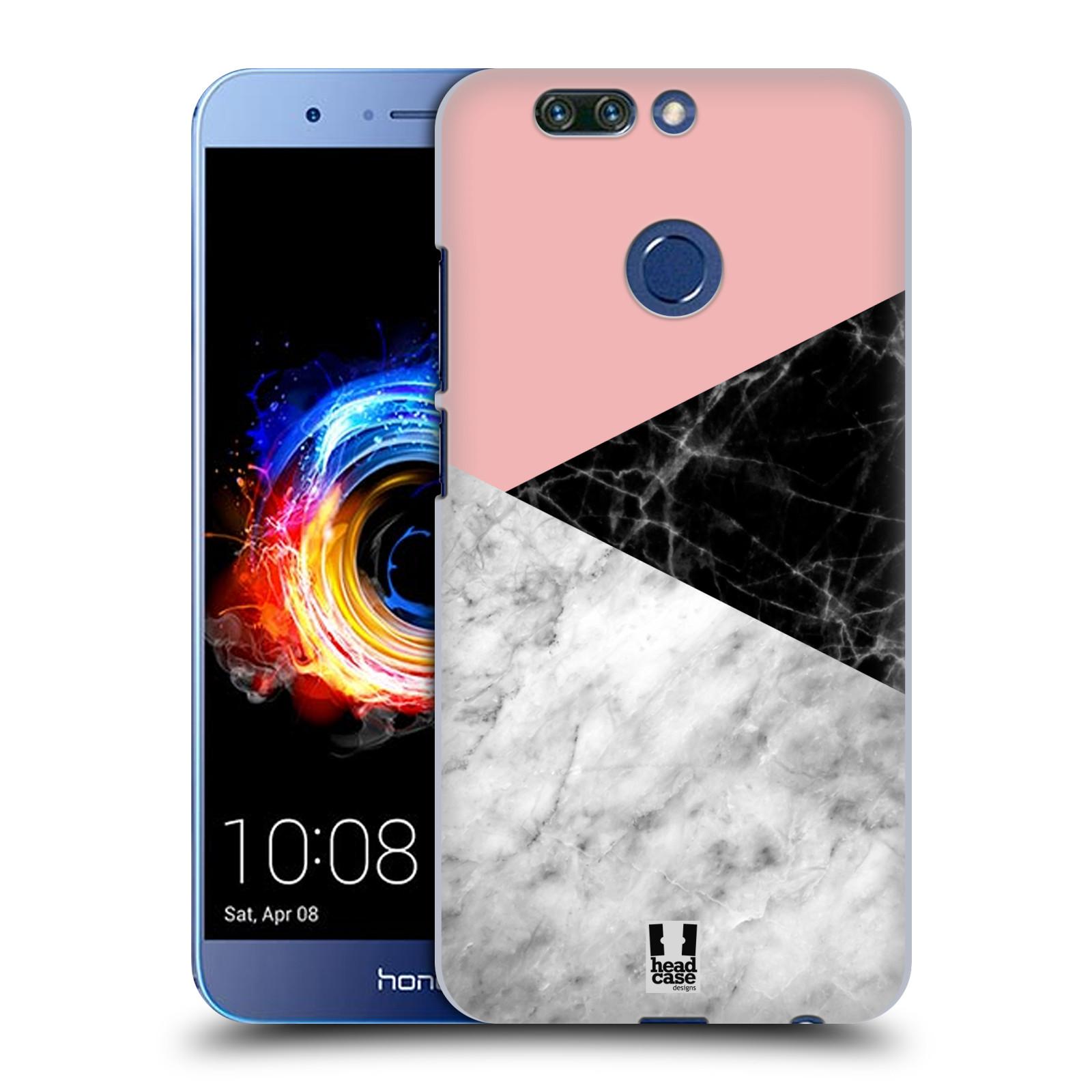Plastové pouzdro na mobil Honor 8 Pro - Head Case - Mramor mix