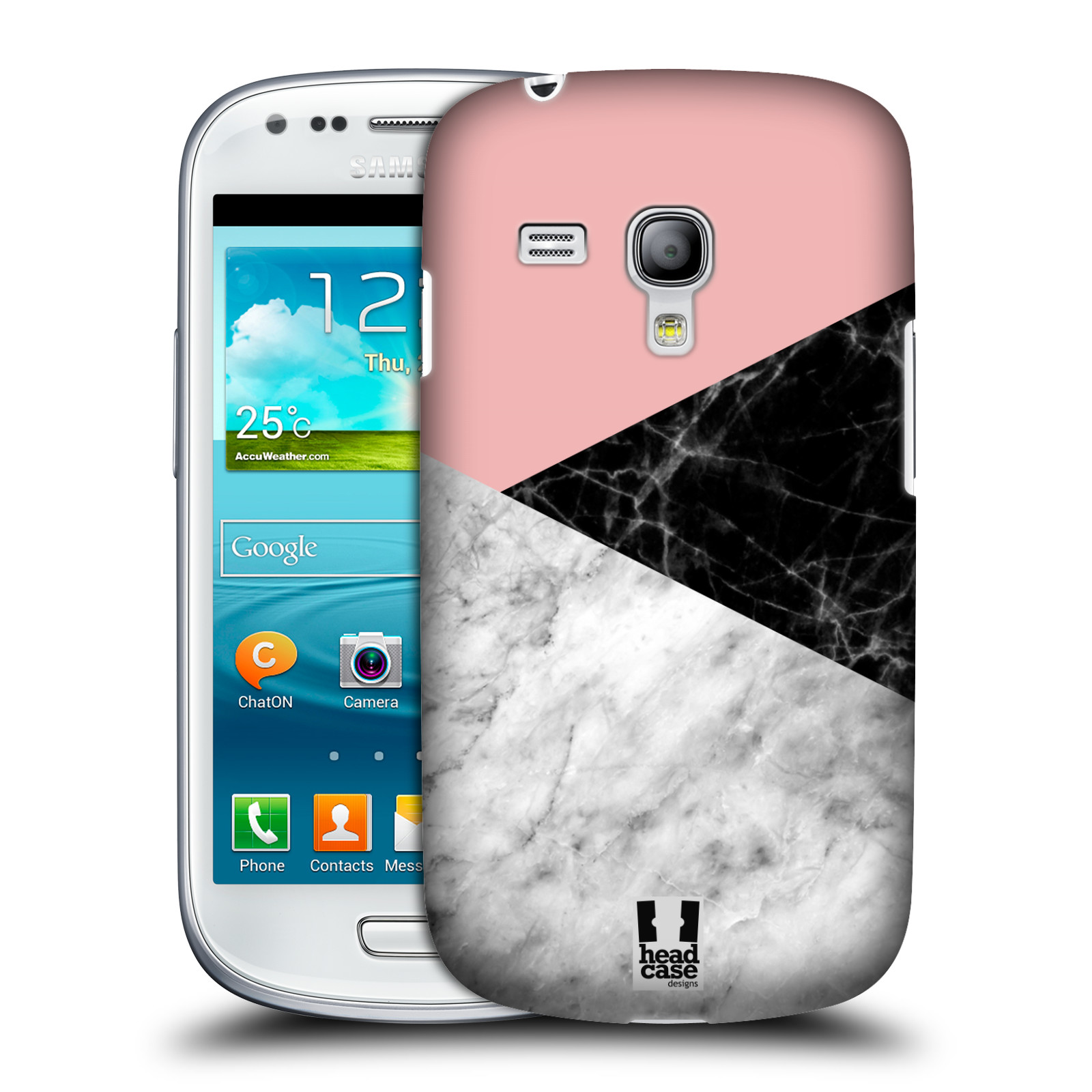 Silikonové pouzdro na mobil Samsung Galaxy S III Mini VE - Head Case - Mramor mix