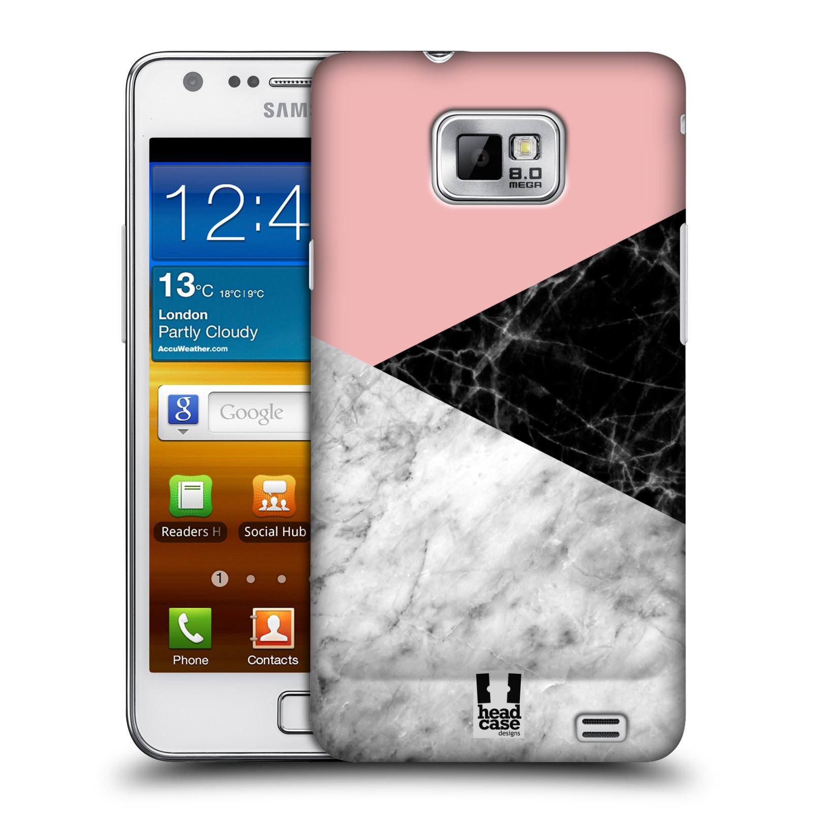 Plastové pouzdro na mobil Samsung Galaxy S II - Head Case - Mramor mix