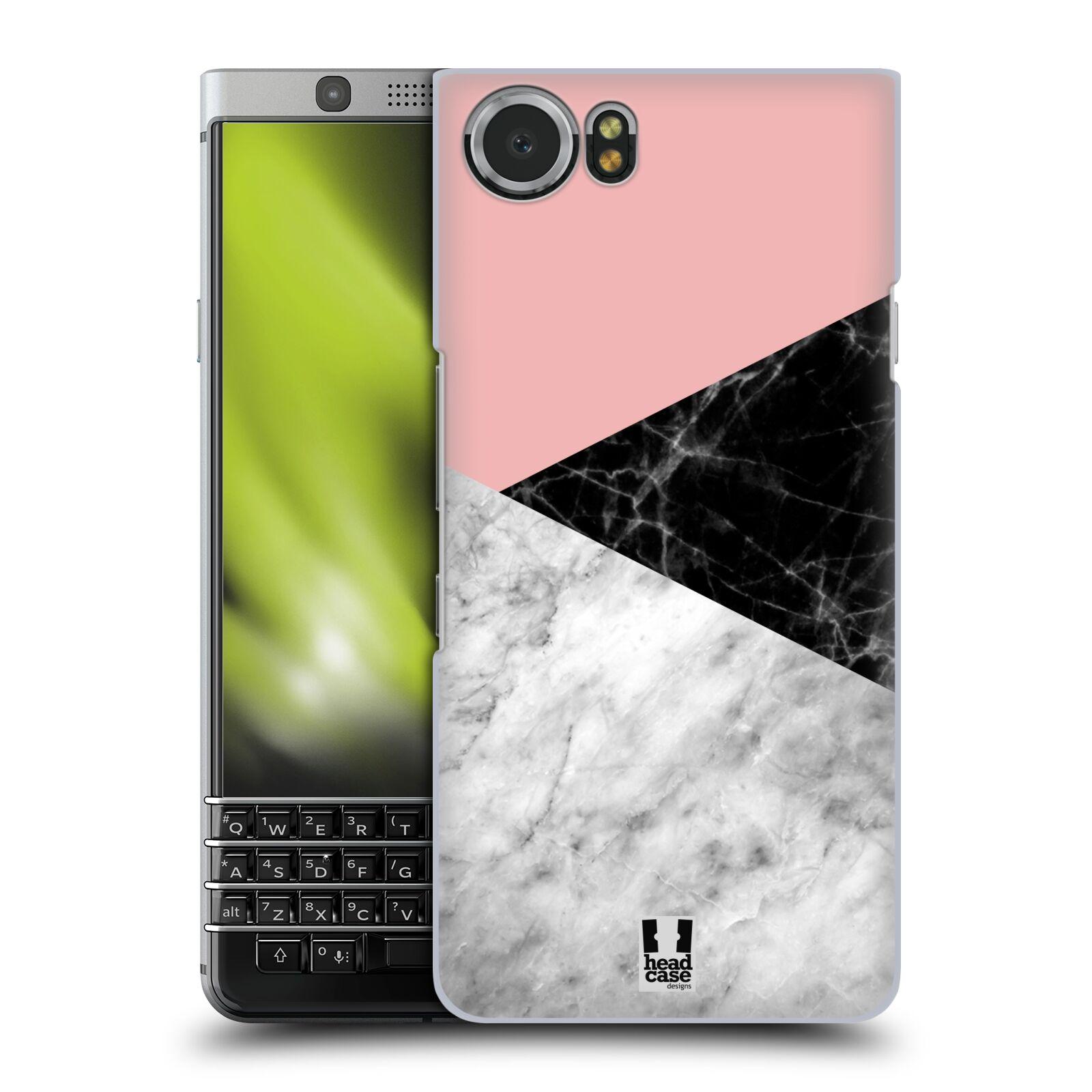 Plastové pouzdro na mobil BlackBerry KEYone - Head Case - Mramor mix