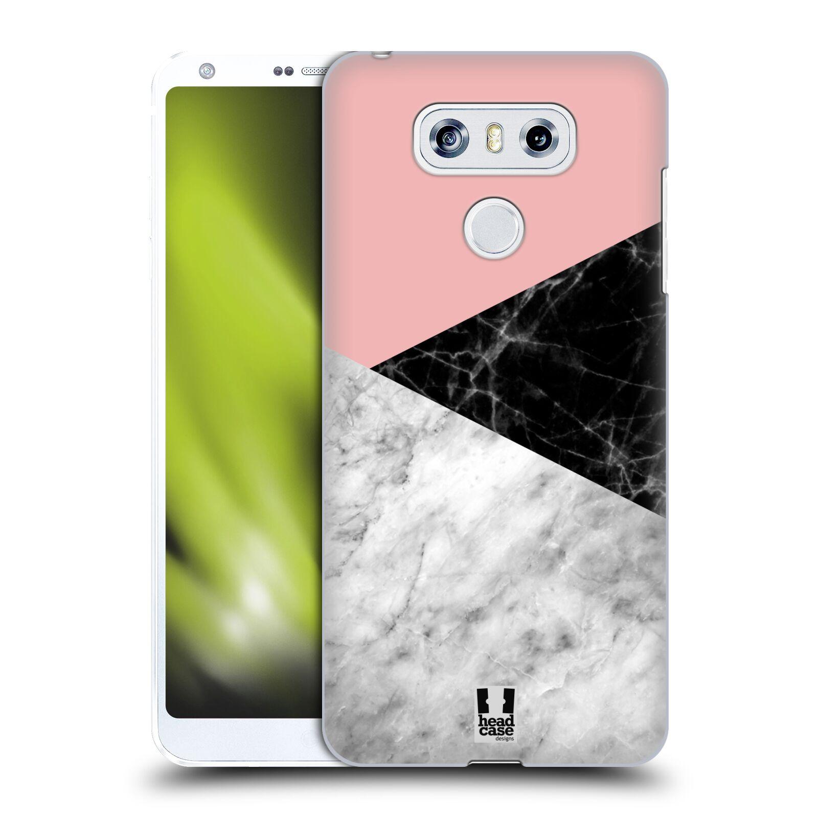 Plastové pouzdro na mobil LG G6 - Head Case - Mramor mix