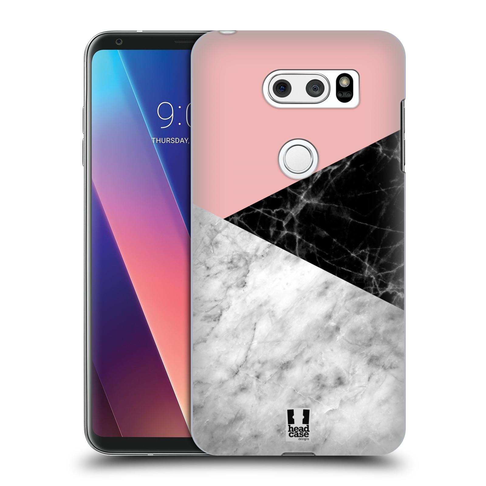Plastové pouzdro na mobil LG V30 - Head Case - Mramor mix