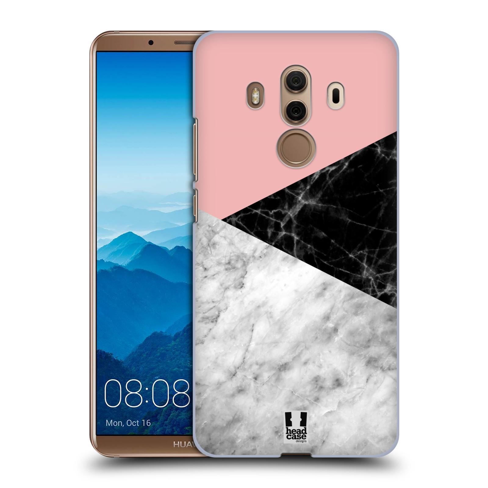 Plastové pouzdro na mobil Huawei Mate 10 Pro - Head Case - Mramor mix