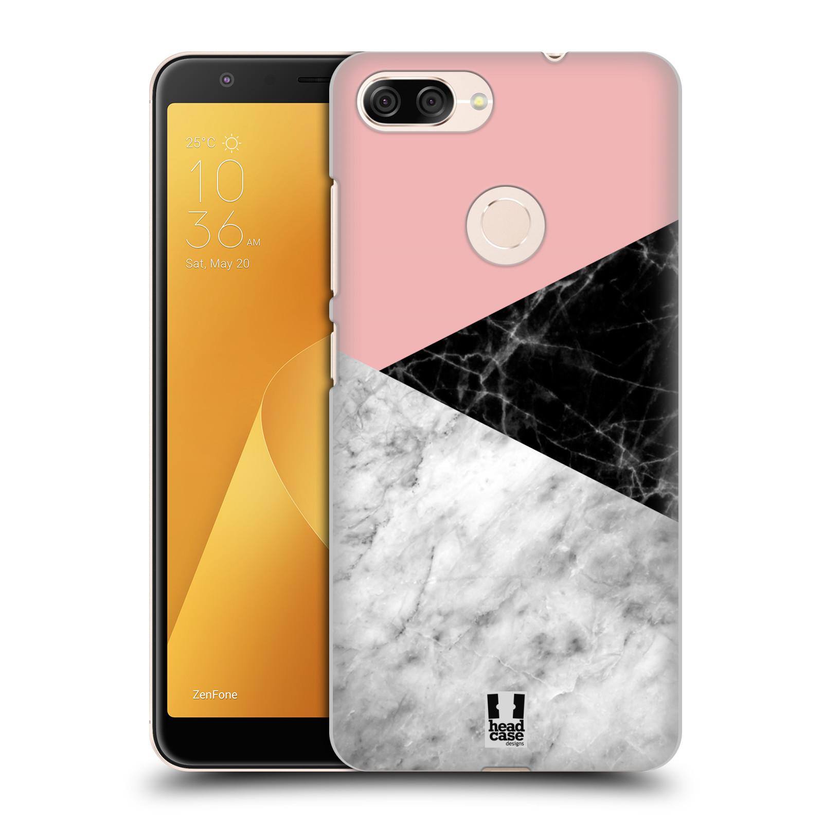 Plastové pouzdro na mobil Asus ZenFone Max Plus (M1) - Head Case - Mramor mix