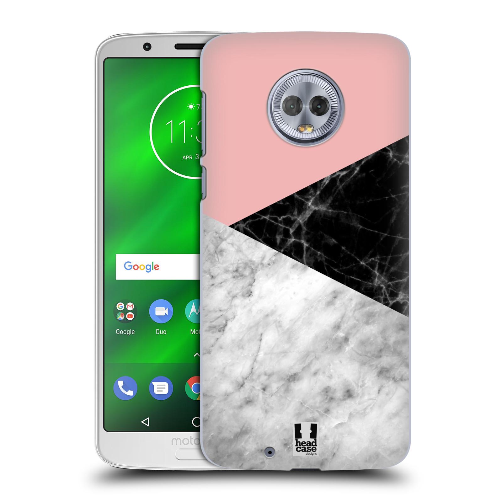 Plastové pouzdro na mobil Motorola Moto G6 - Head Case - Mramor mix