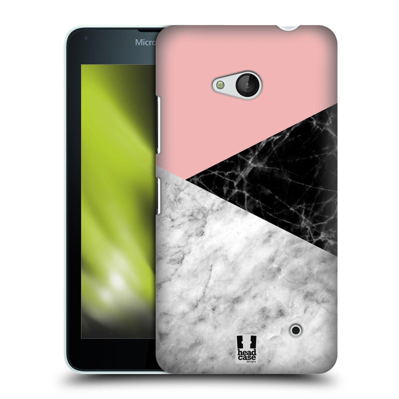 Plastové pouzdro na mobil Microsoft Lumia 640 - Head Case - Mramor mix