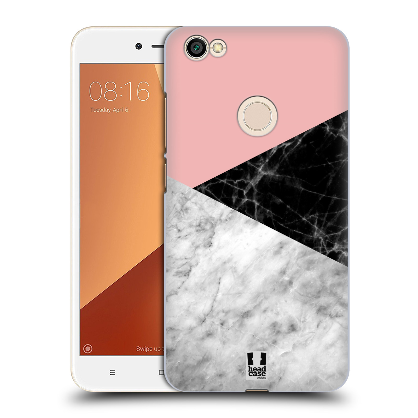 Plastové pouzdro na mobil Xiaomi Redmi Note 5A - Head Case - Mramor mix