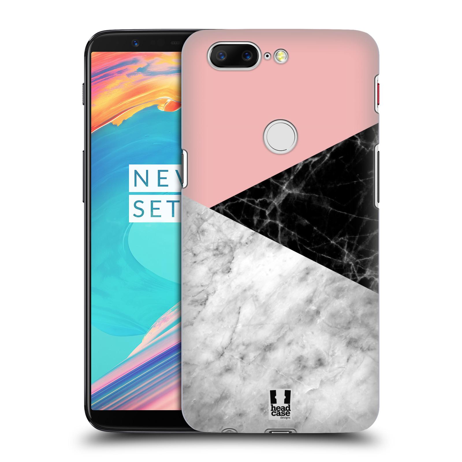 Plastové pouzdro na mobil OnePlus 5T - Head Case - Mramor mix