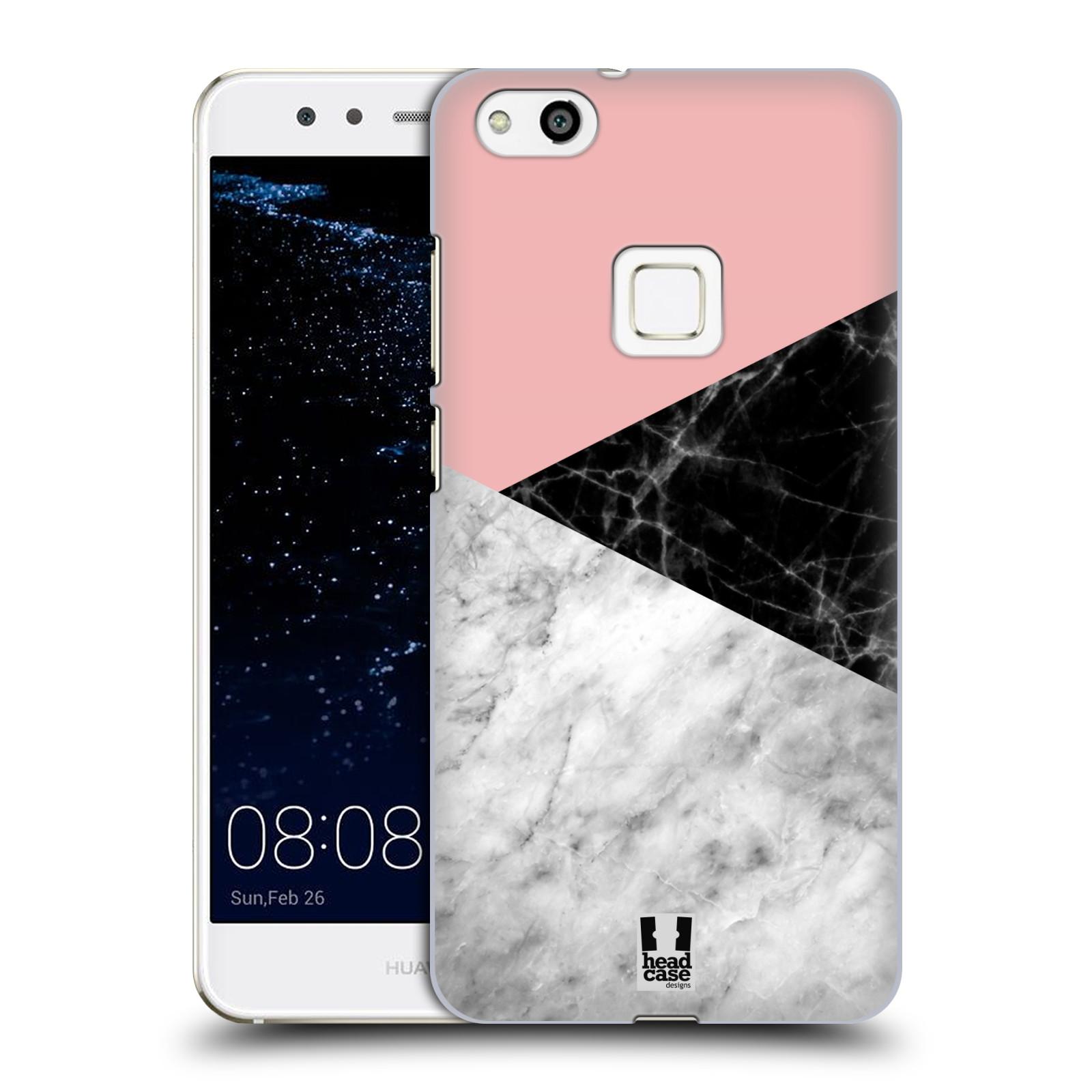 Plastové pouzdro na mobil Huawei P10 Lite Head Case - Mramor mix