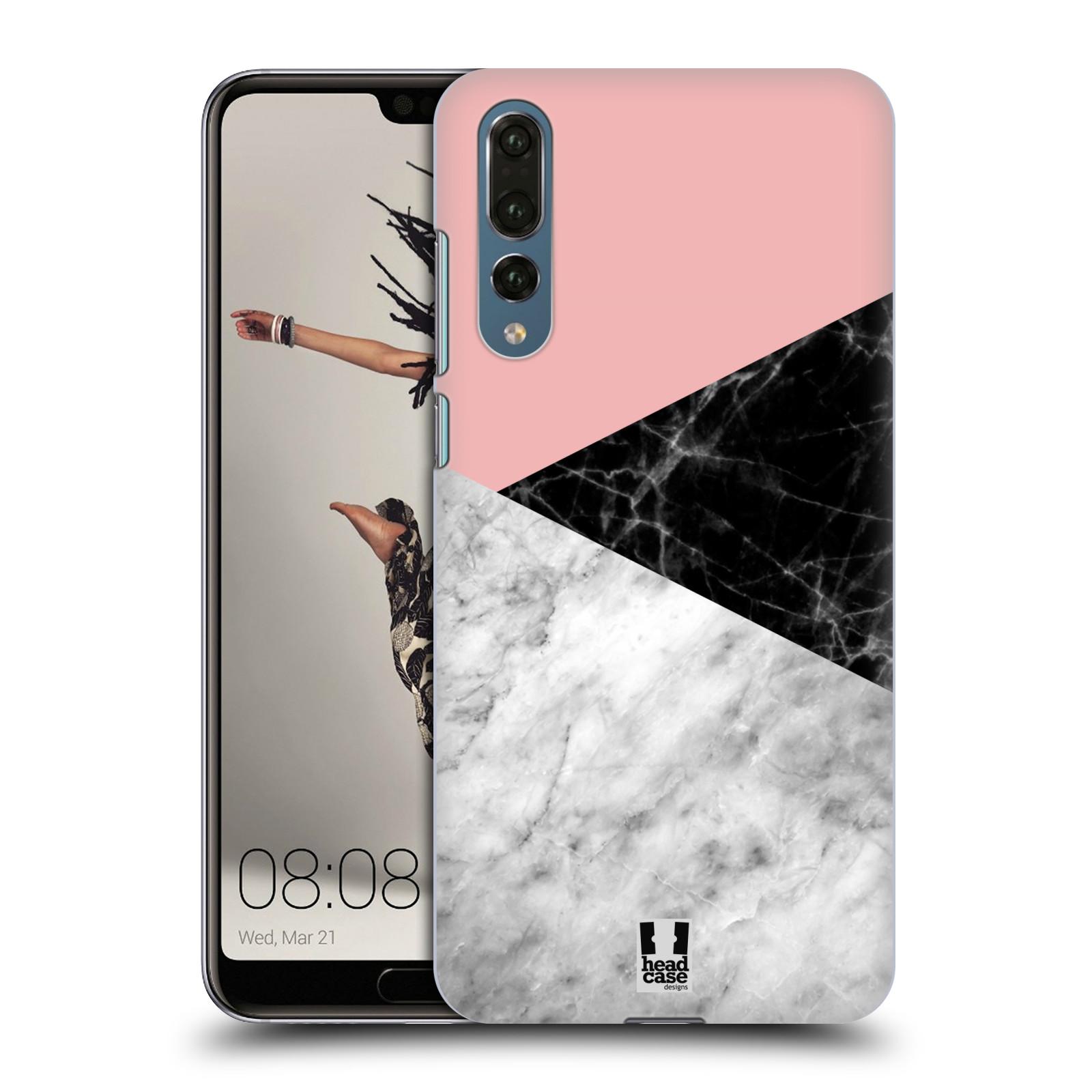 Plastové pouzdro na mobil Huawei P20 Pro - Head Case - Mramor mix