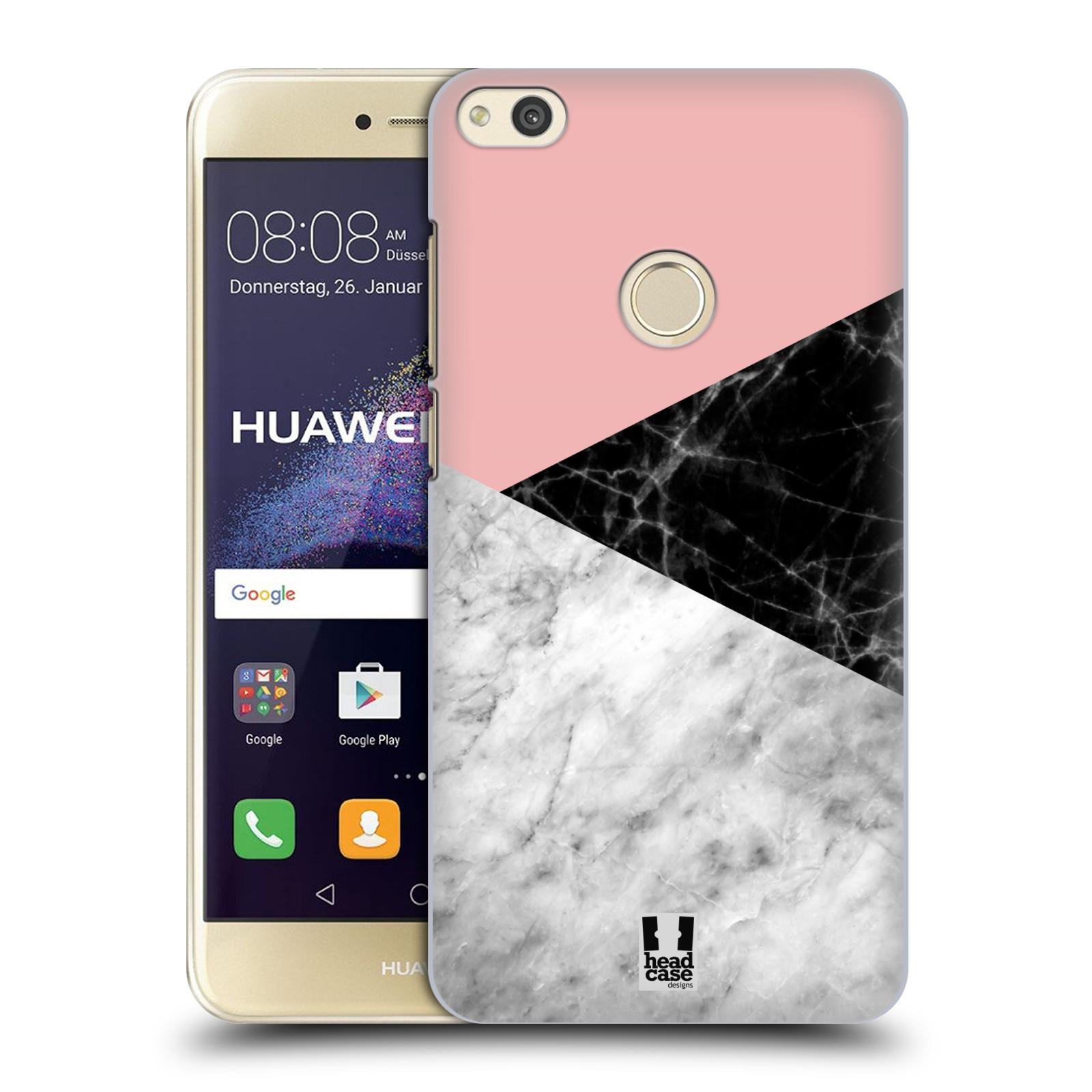 Plastové pouzdro na mobil Huawei P9 Lite (2017) - Head Case - Mramor mix