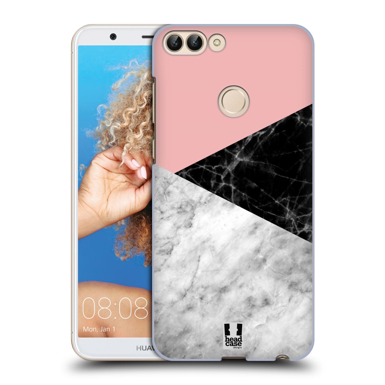 Plastové pouzdro na mobil Huawei P Smart - Head Case - Mramor mix