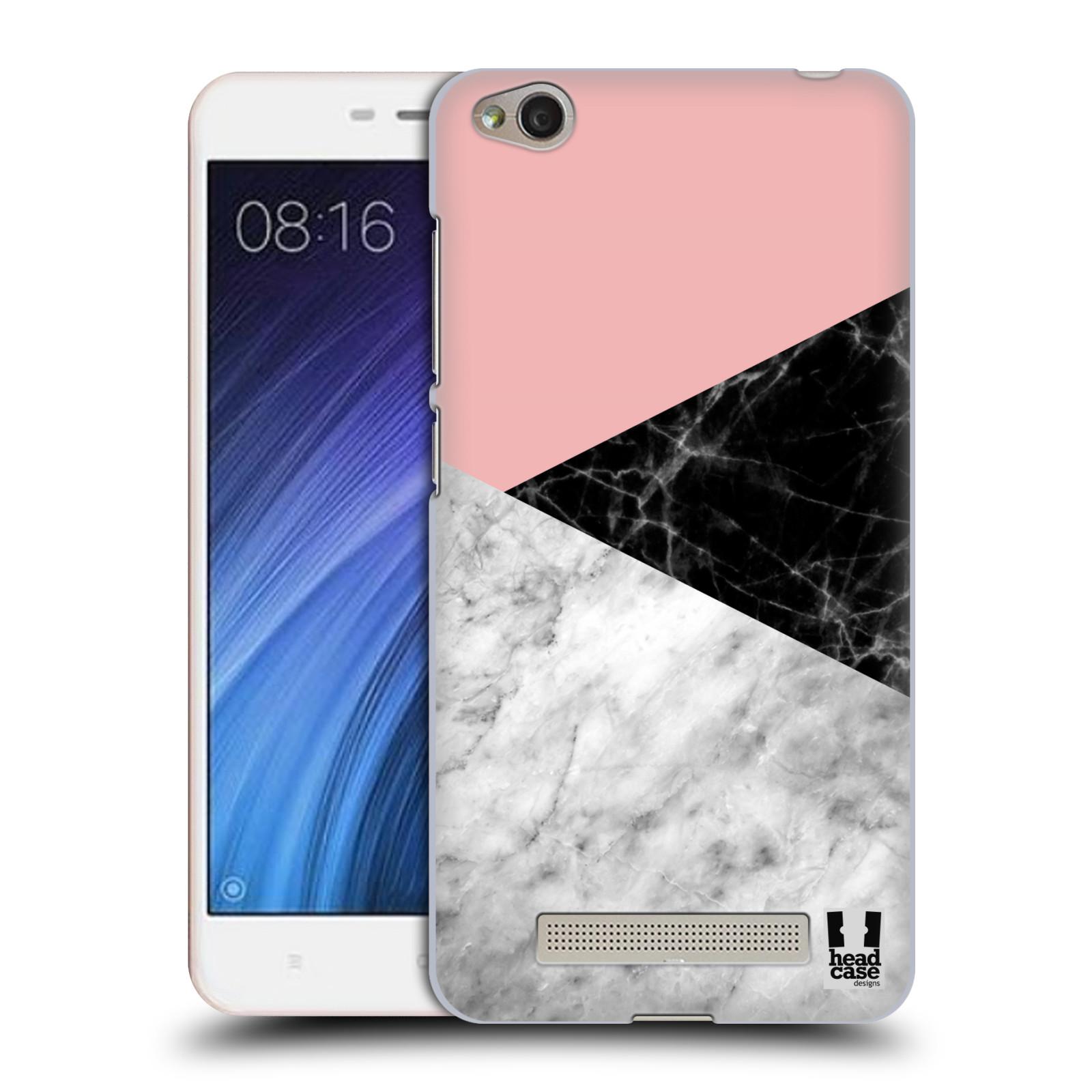 Plastové pouzdro na mobil Xiaomi Redmi 4A - Head Case - Mramor mix