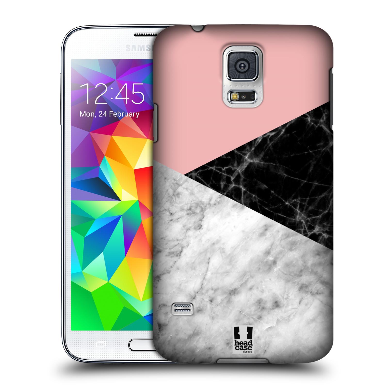 Plastové pouzdro na mobil Samsung Galaxy S5 - Head Case - Mramor mix