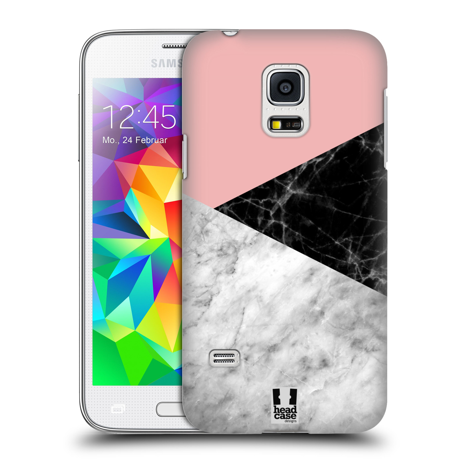 Plastové pouzdro na mobil Samsung Galaxy S5 Mini - Head Case - Mramor mix