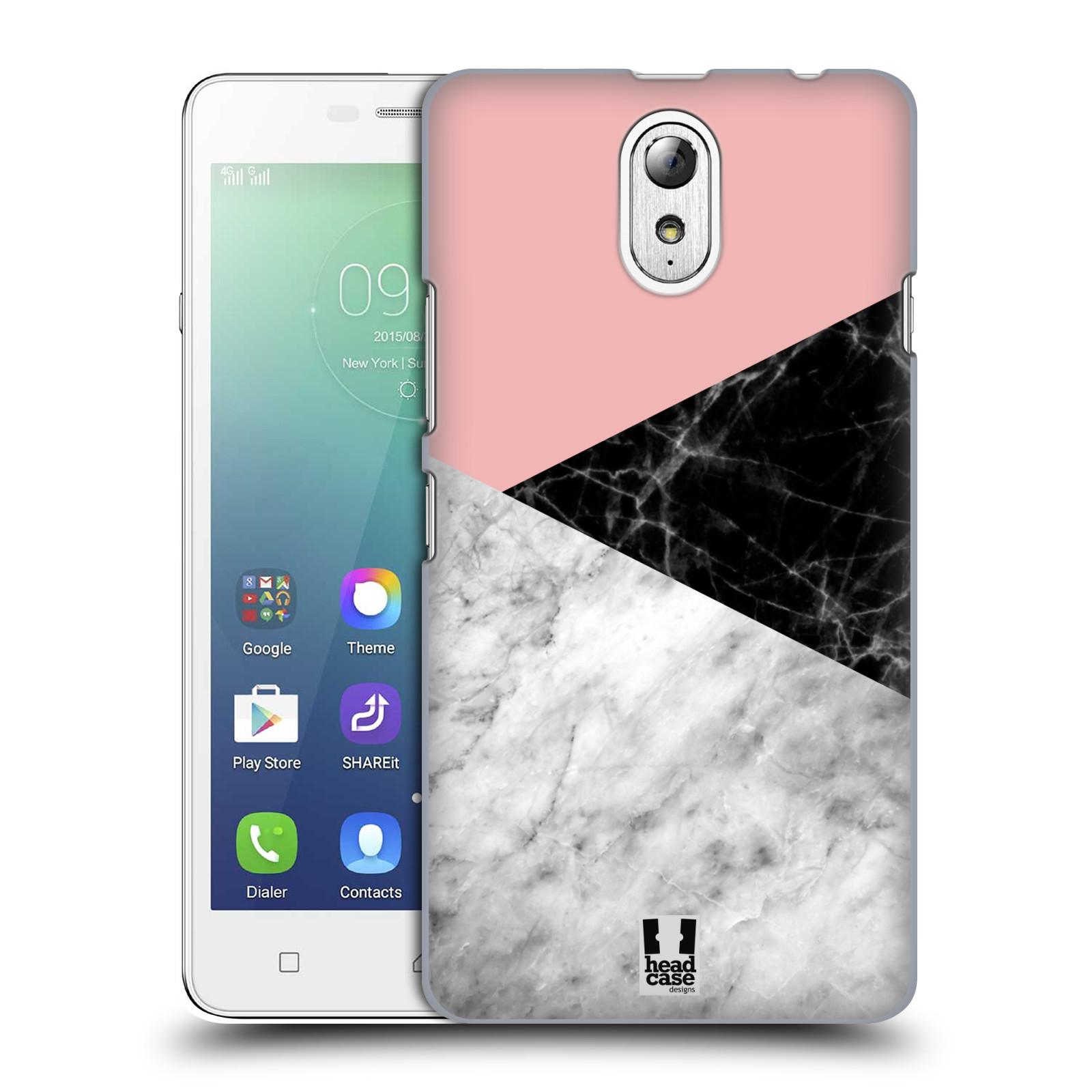 Plastové pouzdro na mobil Lenovo Vibe P1m - Head Case - Mramor mix