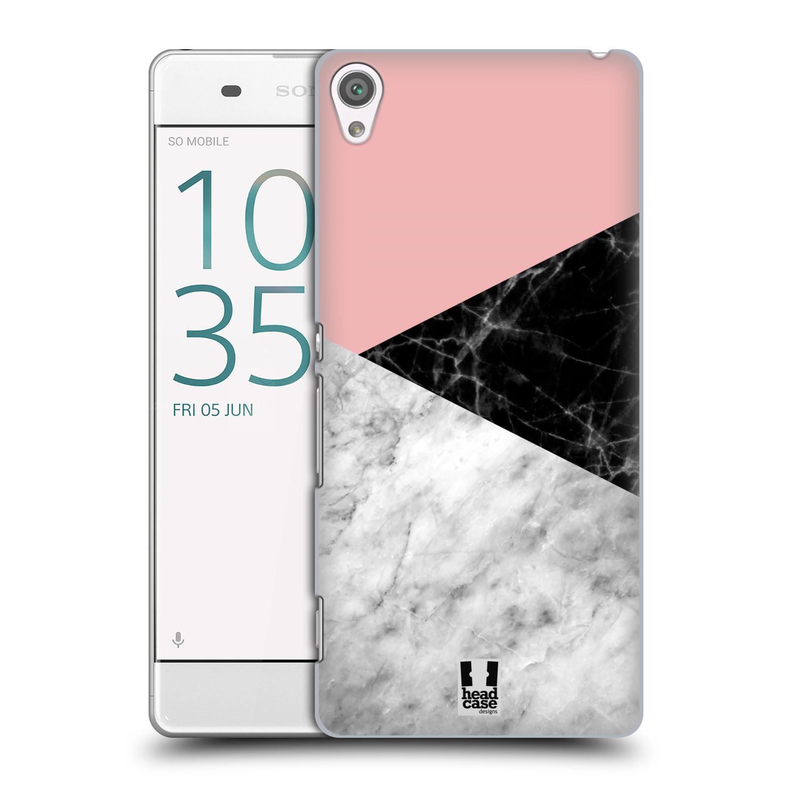 Plastové pouzdro na mobil Sony Xperia XA - Head Case - Mramor mix