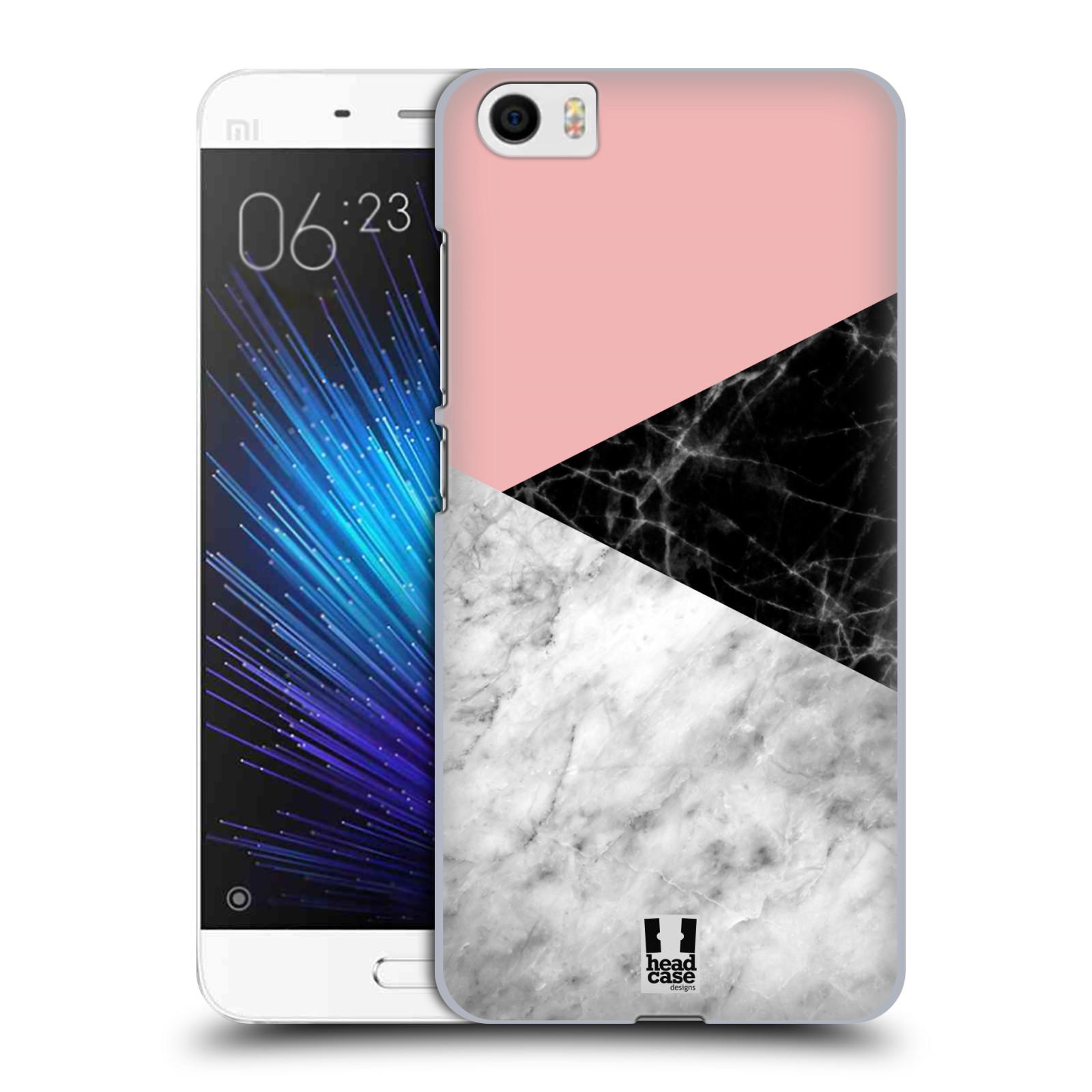 Plastové pouzdro na mobil Xiaomi Mi5 - Head Case - Mramor mix