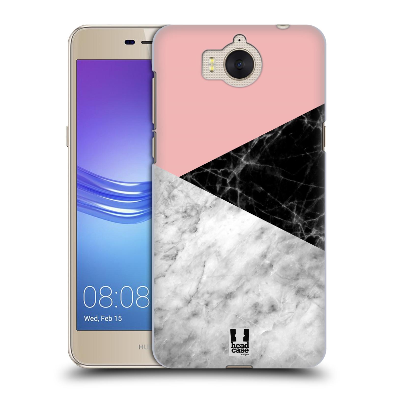 Plastové pouzdro na mobil Huawei Y6 2017 - Head Case - Mramor mix