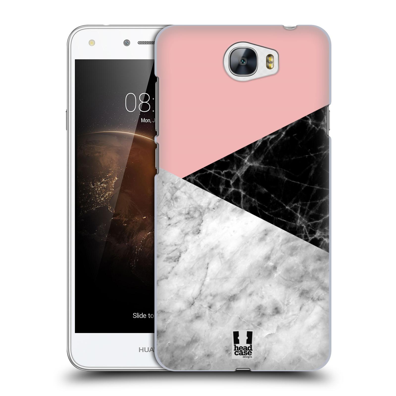 Plastové pouzdro na mobil Huawei Y5 II - Head Case - Mramor mix