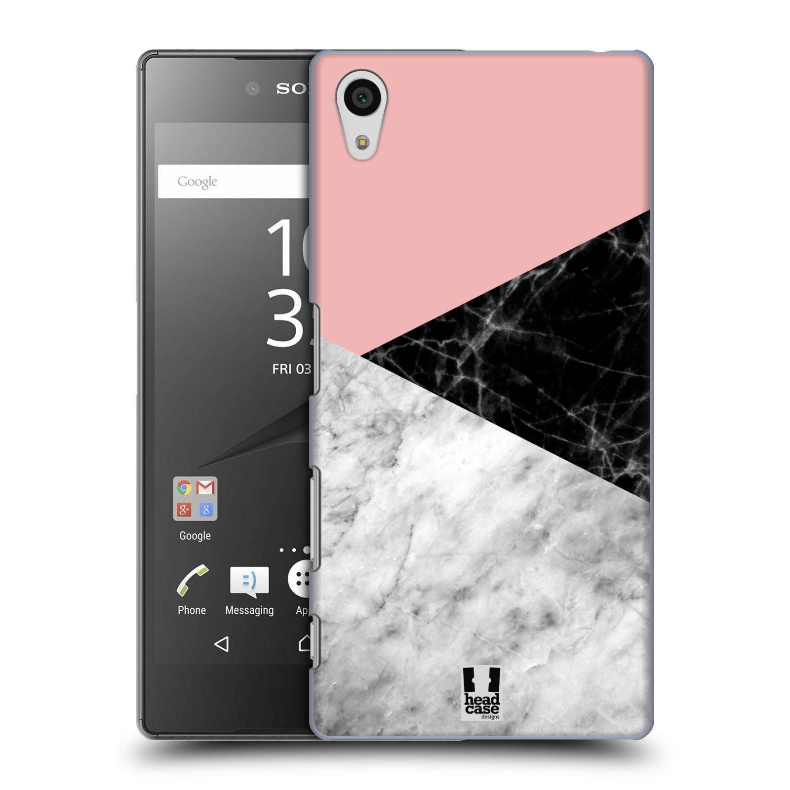 Plastové pouzdro na mobil Sony Xperia Z5 - Head Case - Mramor mix