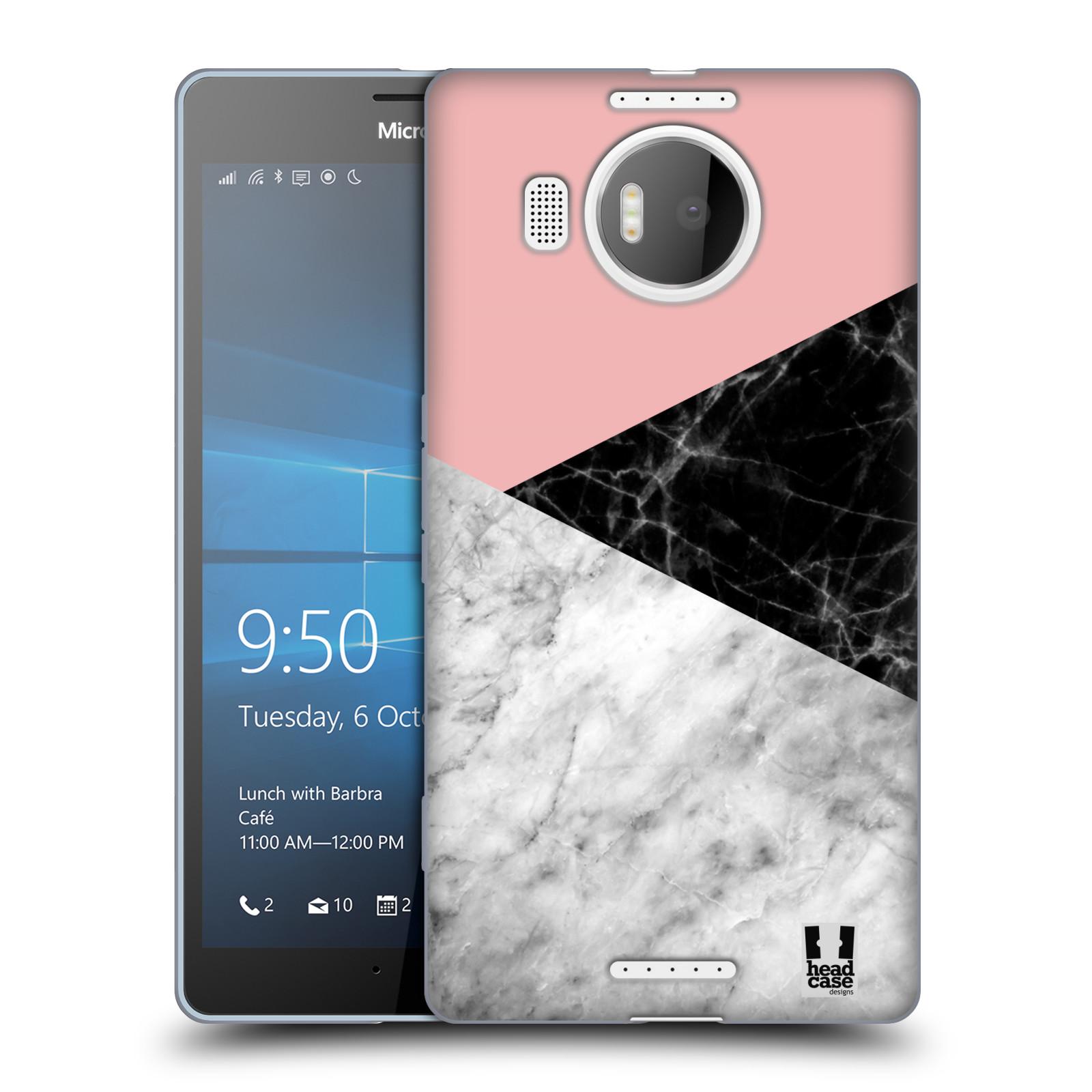 Silikonové pouzdro na mobil Microsoft Lumia 950 XL - Head Case - Mramor mix